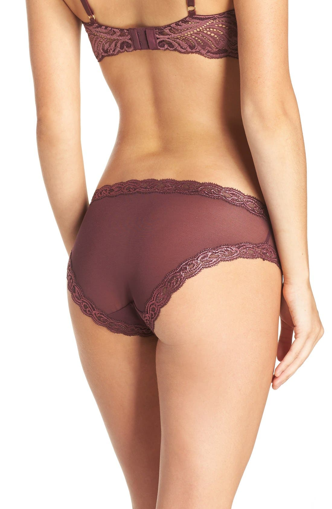 Feathers Hipster Briefs,                             Alternate thumbnail 450, color,