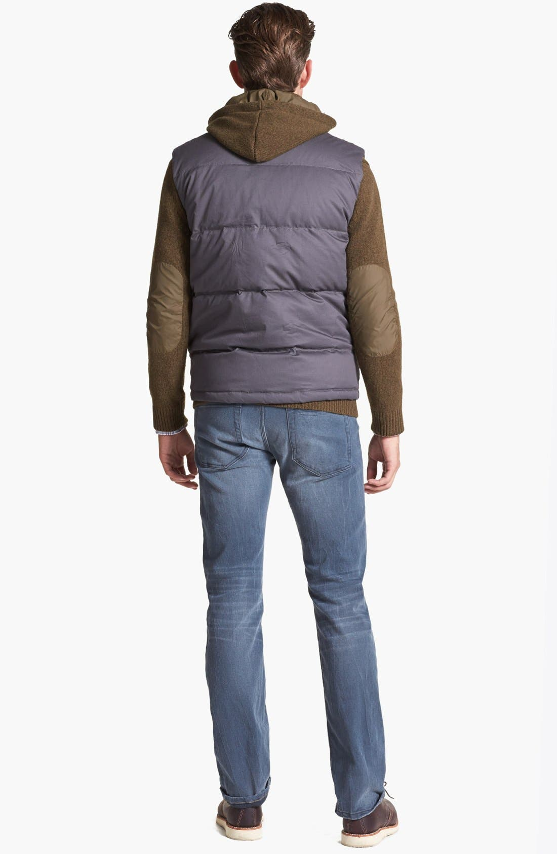 'Infantry' Wool Blend Sweater,                             Alternate thumbnail 5, color,                             341