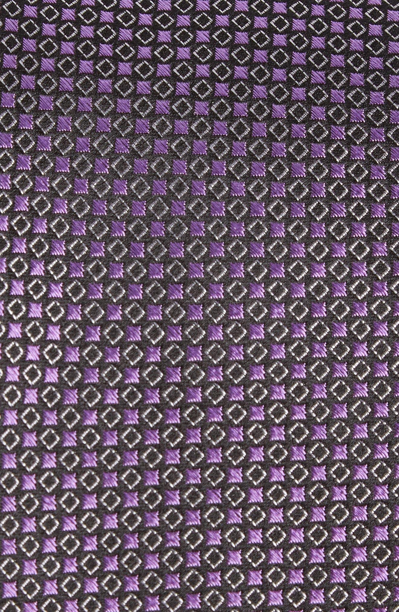 Chad Microdot Silk Tie,                             Alternate thumbnail 9, color,