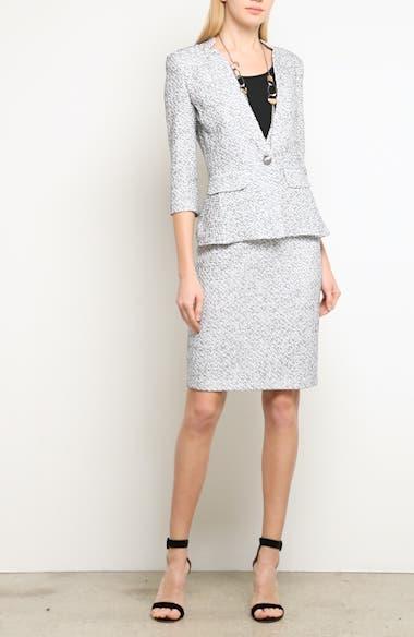 Olivia Bouclé Knit Skirt, video thumbnail