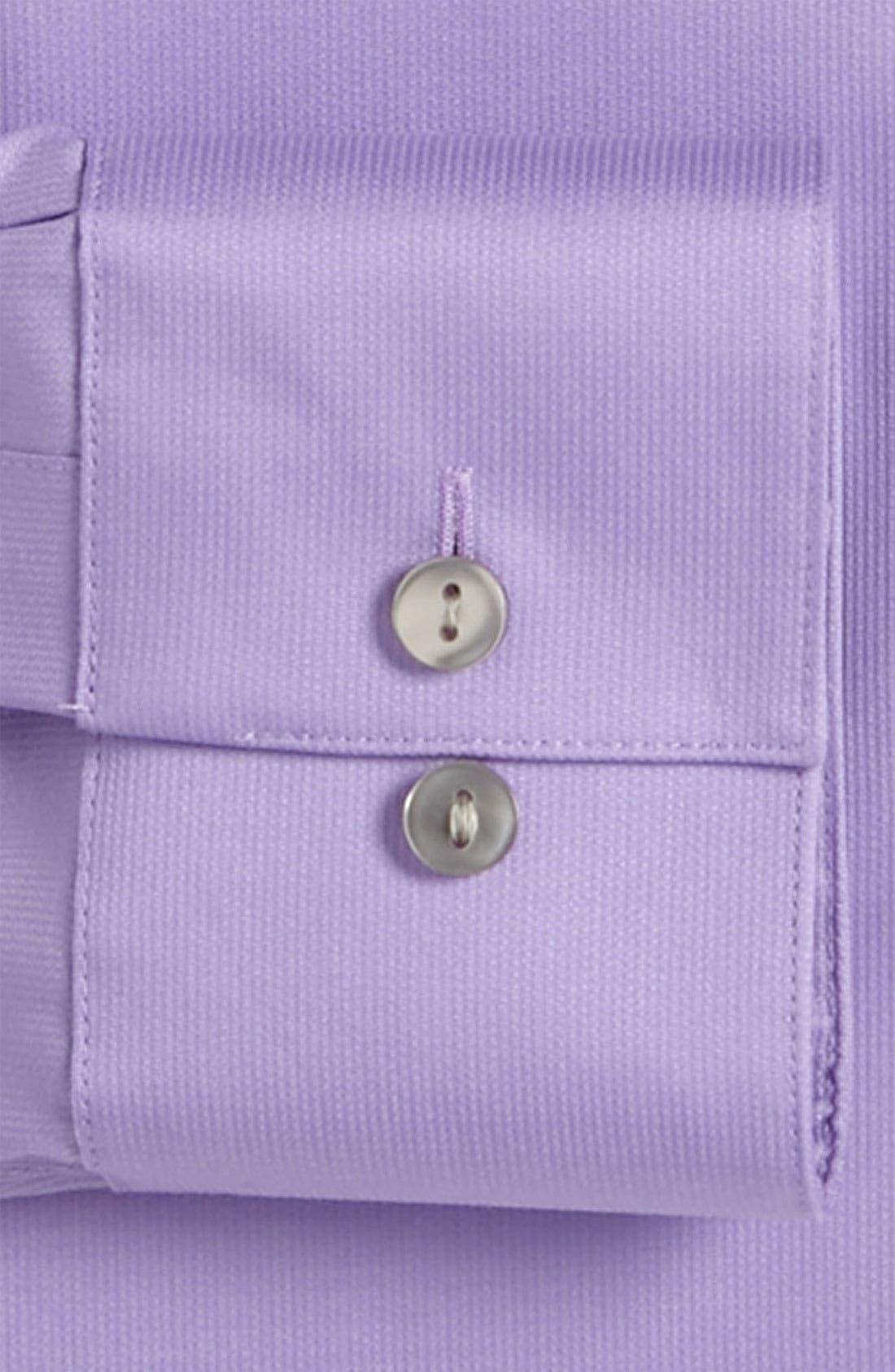 Slim Fit Non-Iron Dress Shirt,                             Alternate thumbnail 11, color,