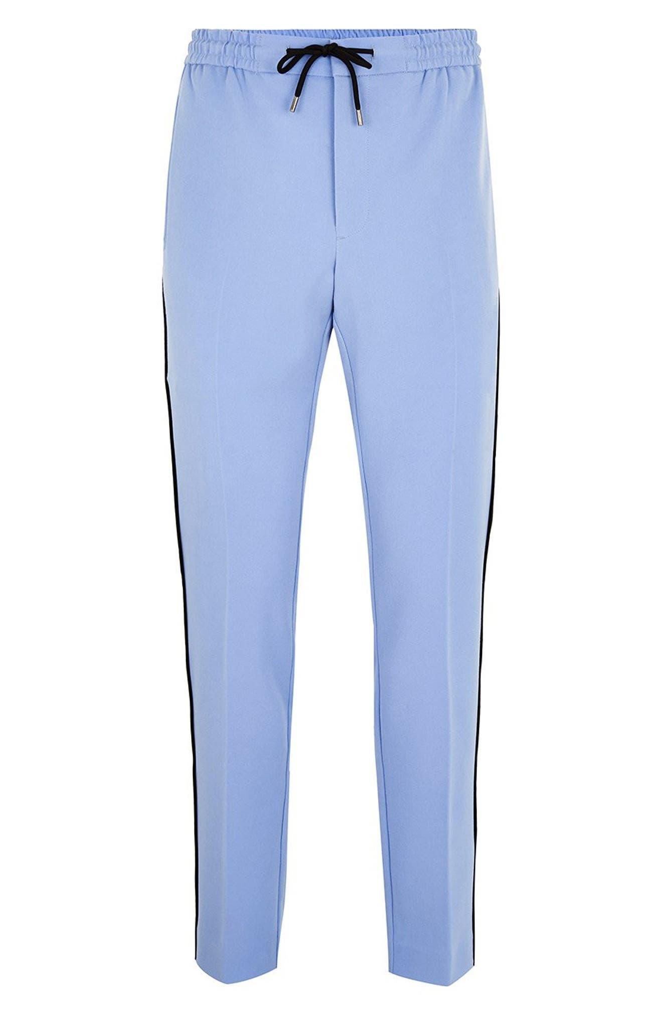 Binding Skinny Fit Jogger Pants,                             Alternate thumbnail 5, color,                             400