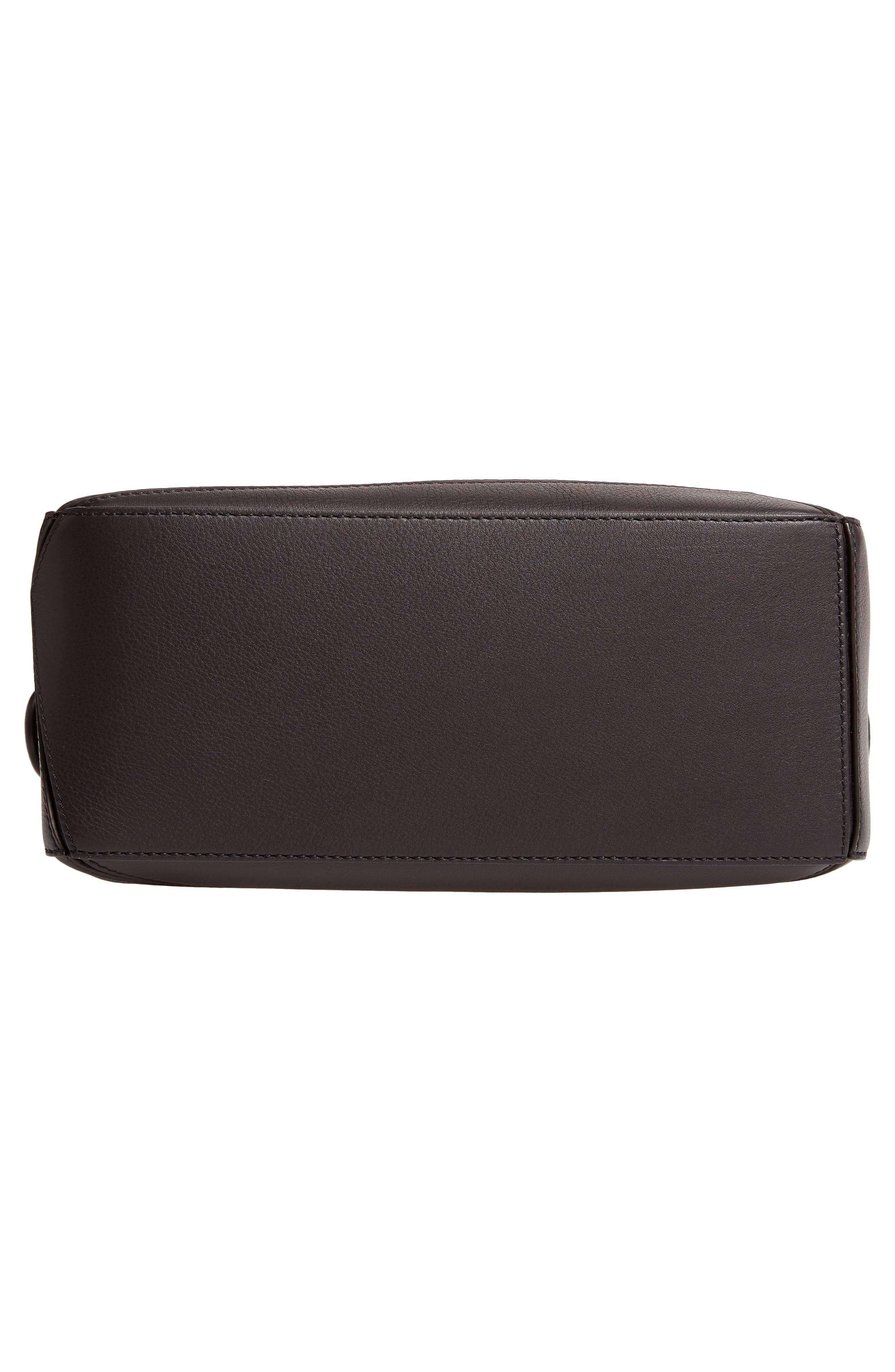 Small Puzzle Shoulder Bag,                             Alternate thumbnail 6, color,                             BLACK
