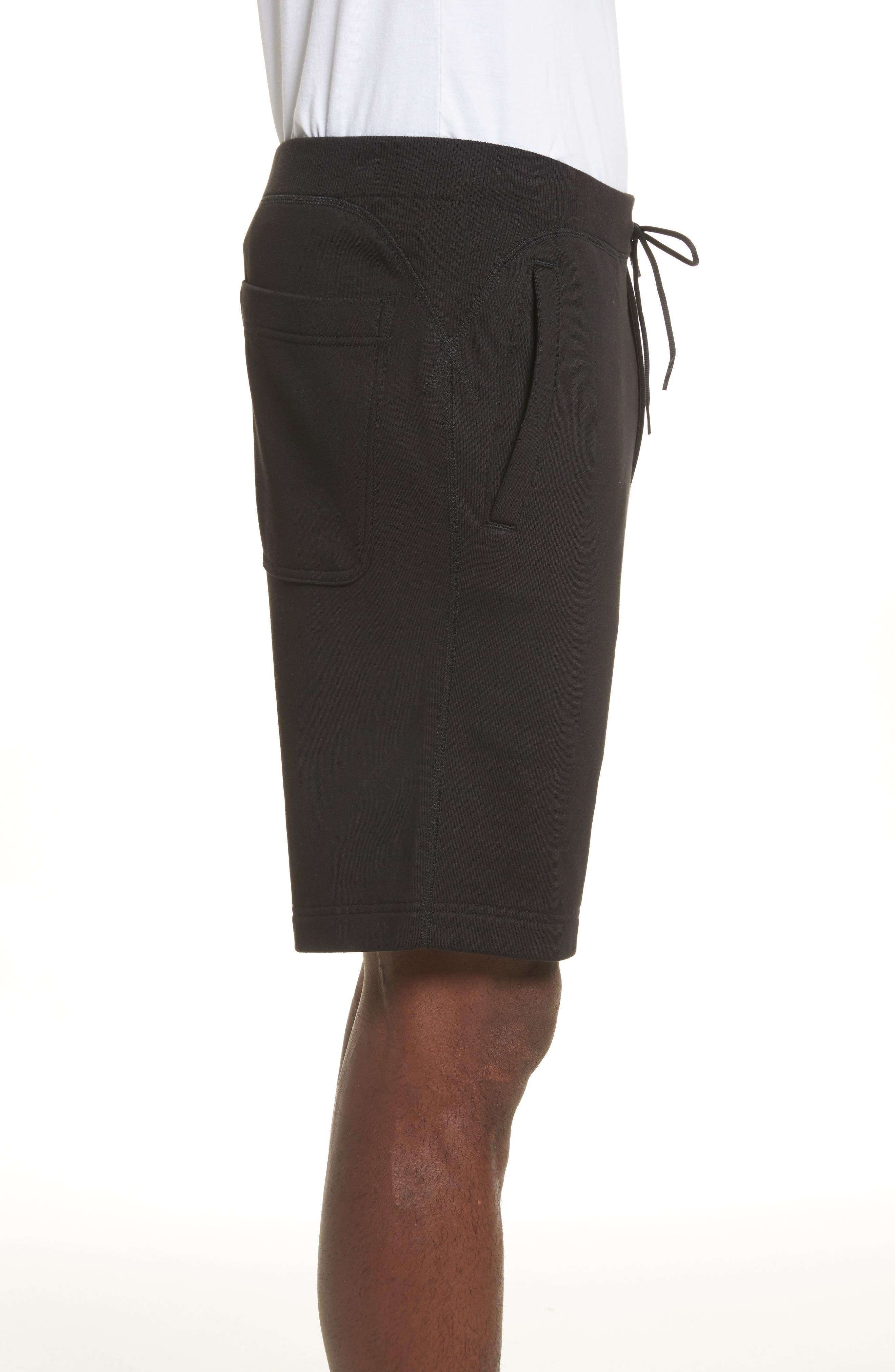 x adidas Track Shorts,                             Alternate thumbnail 3, color,                             001