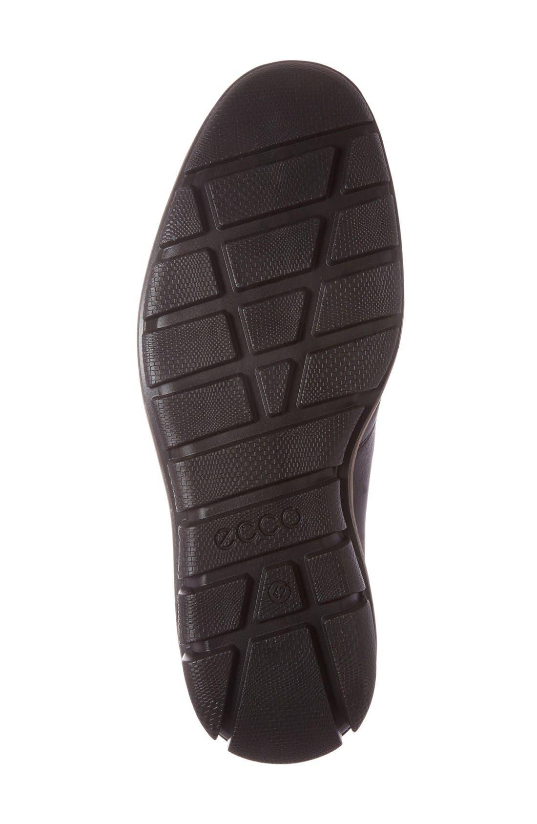 'Jeremy Hybrid' Plain Toe Boot,                             Alternate thumbnail 6, color,
