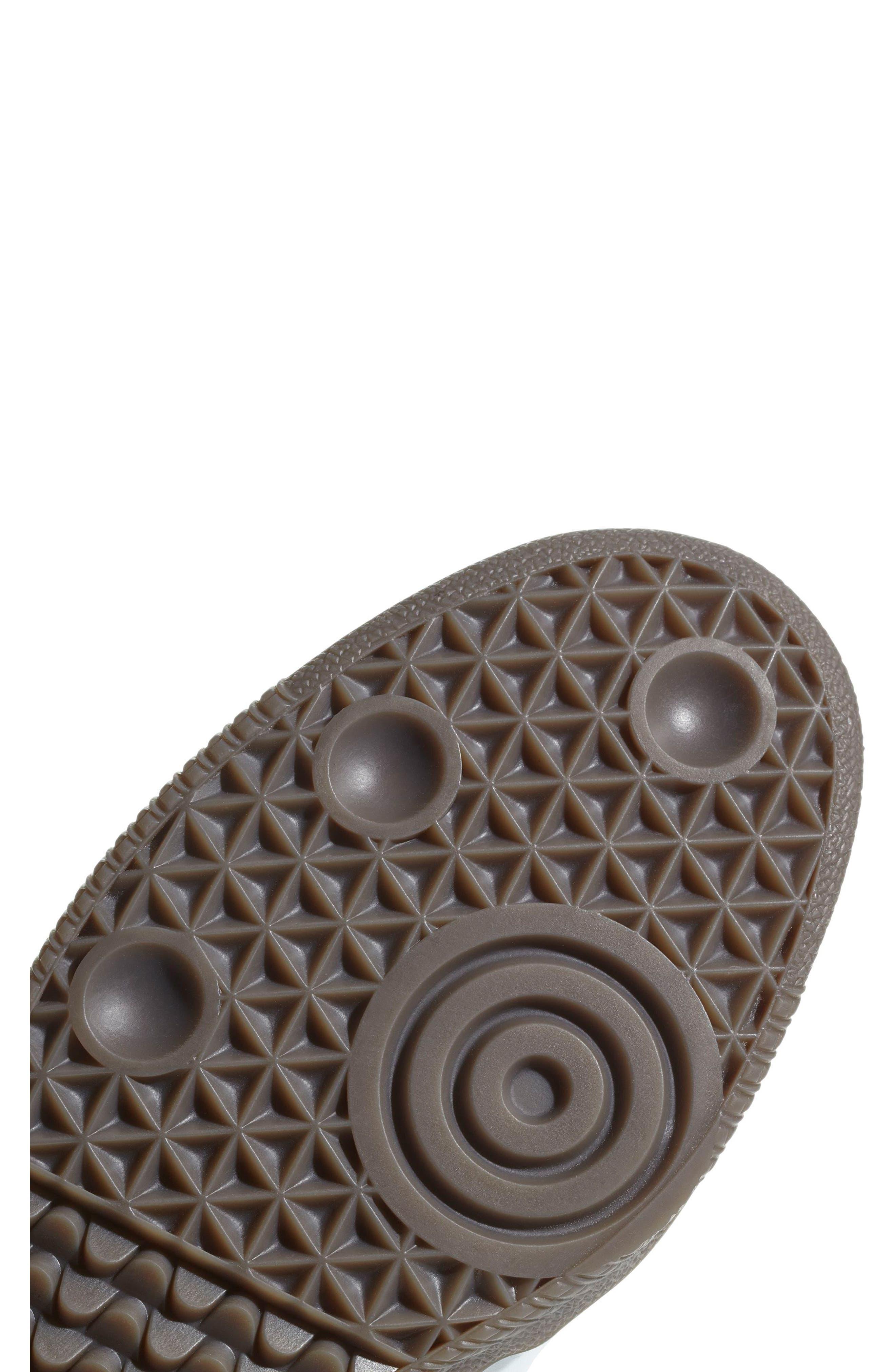 Samba OG Sneaker,                             Alternate thumbnail 6, color,                             BLACK/ WHITE/ GUM