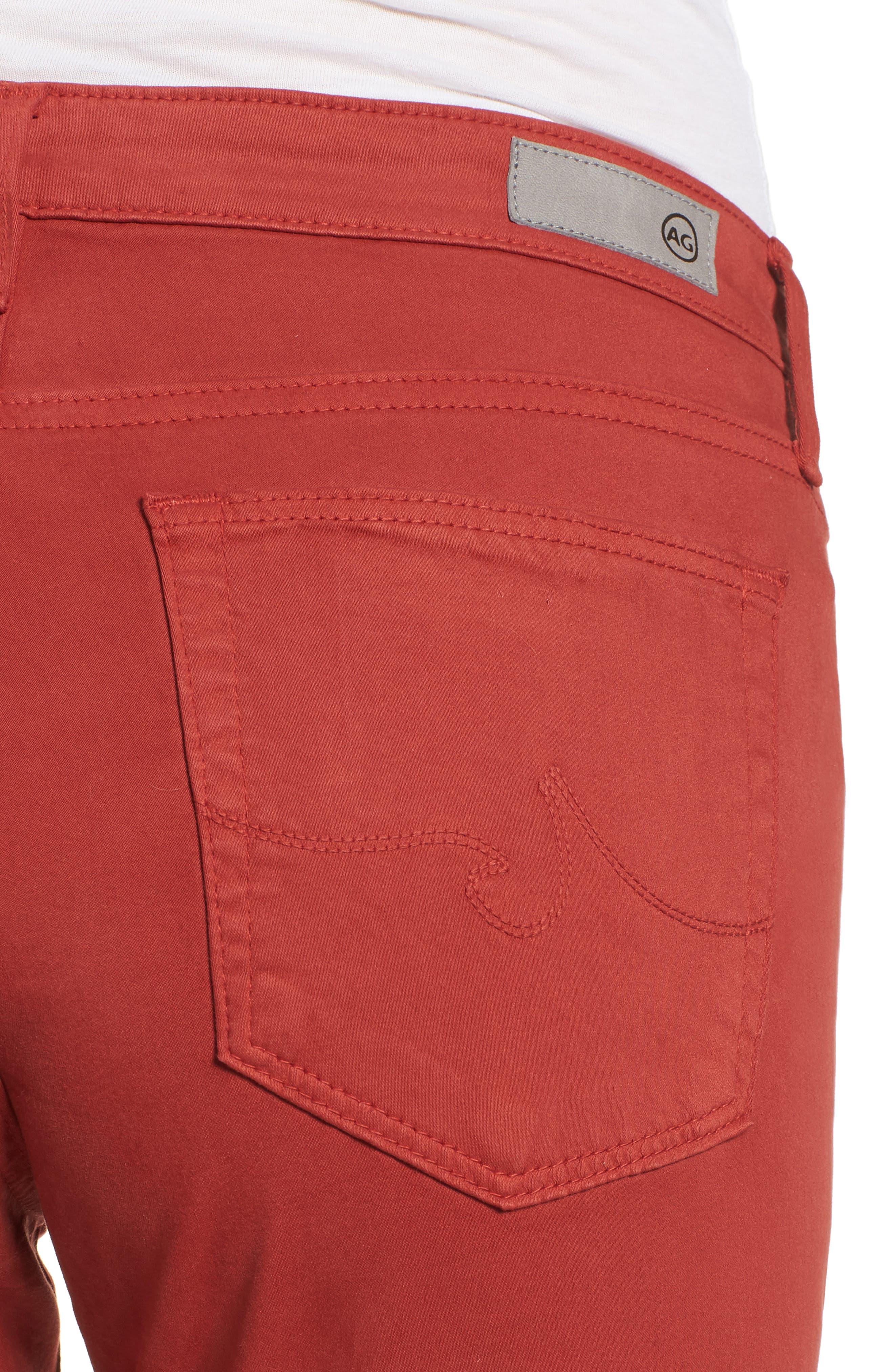 'The Prima' Cigarette Leg Skinny Jeans,                             Alternate thumbnail 90, color,