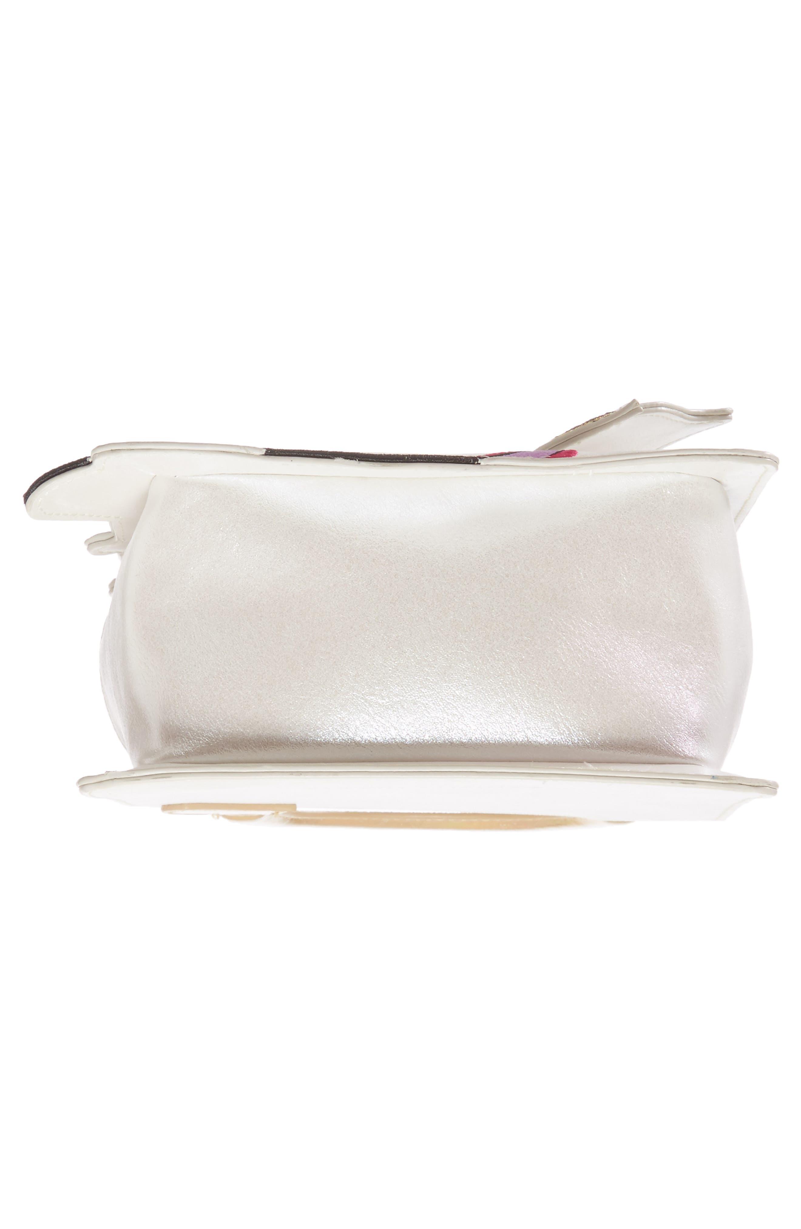 DANIELLE NICOLE,                             x Disney<sup>®</sup> Mrs. Potts & Chip Faux Leather Crossbody Bag,                             Alternate thumbnail 6, color,                             040