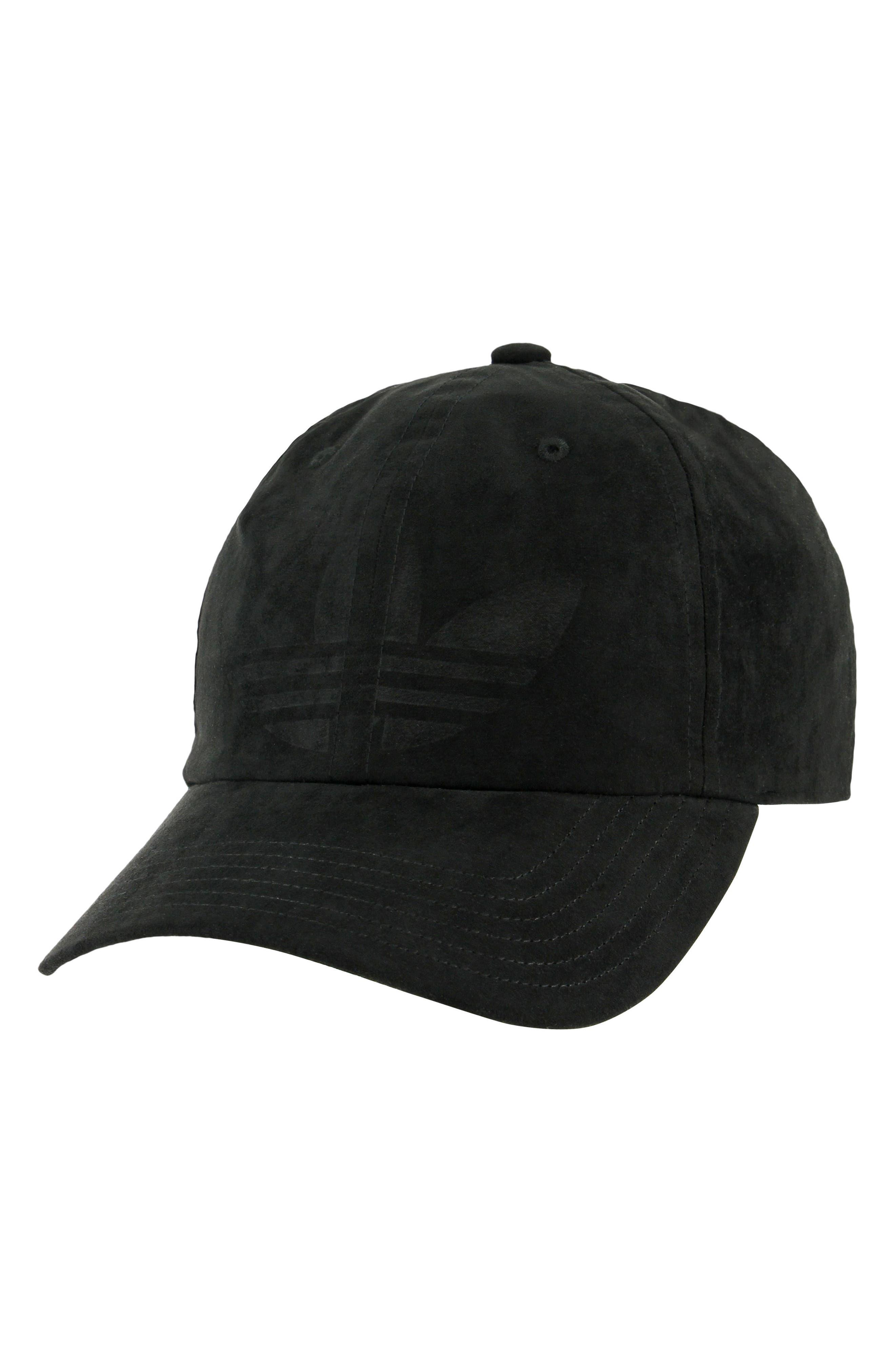 Originals Relaxed Debossed Cap,                         Main,                         color, BLACK
