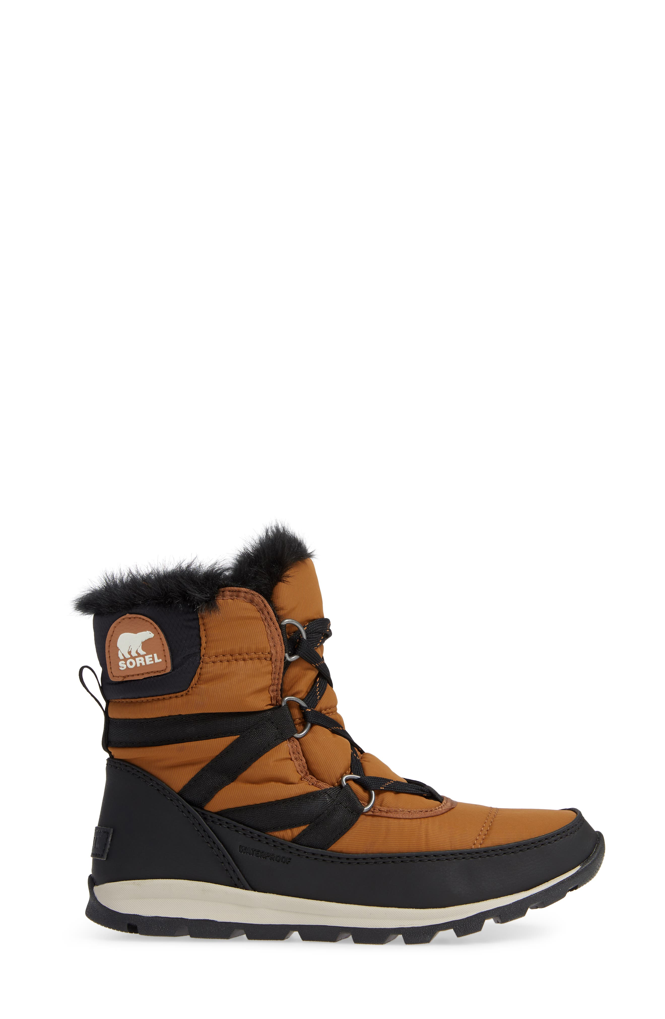 Whitney Snow Bootie,                             Alternate thumbnail 3, color,                             CAMEL BROWN