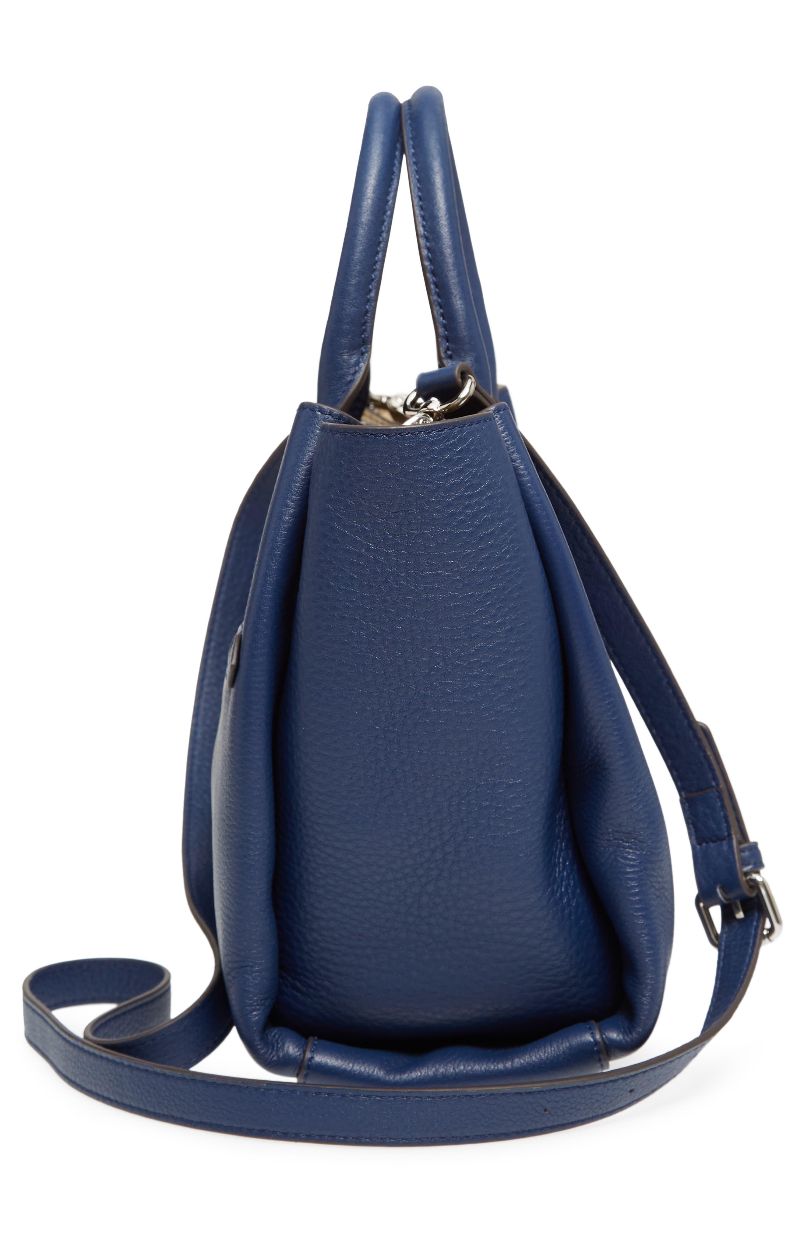 Céline Dion Small Adagio Leather Satchel,                             Alternate thumbnail 24, color,