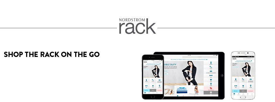 Shop Nordstrom Rack on your iPhone or iPad.
