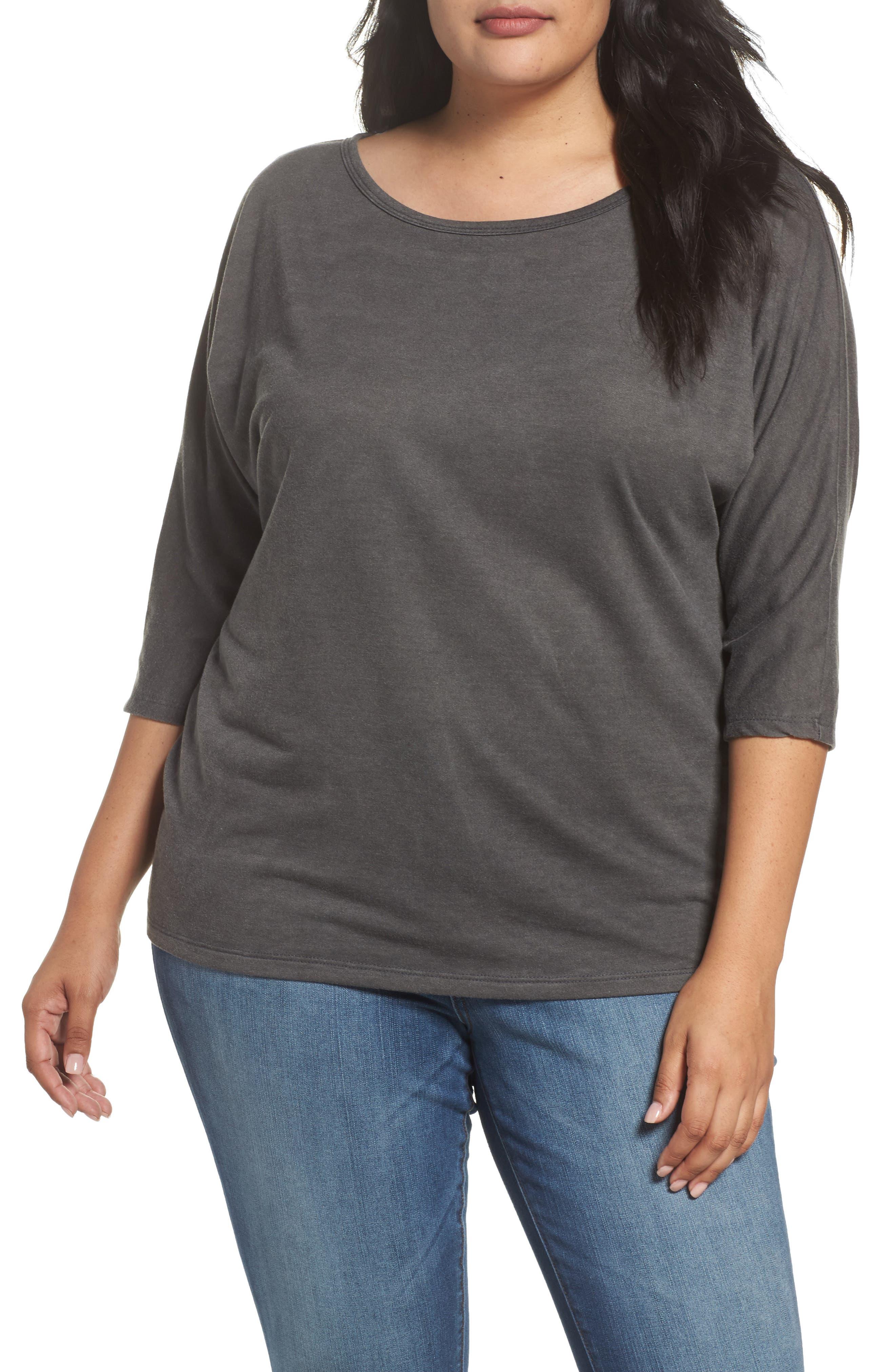 Dolman Sleeve Top,                         Main,                         color, 001