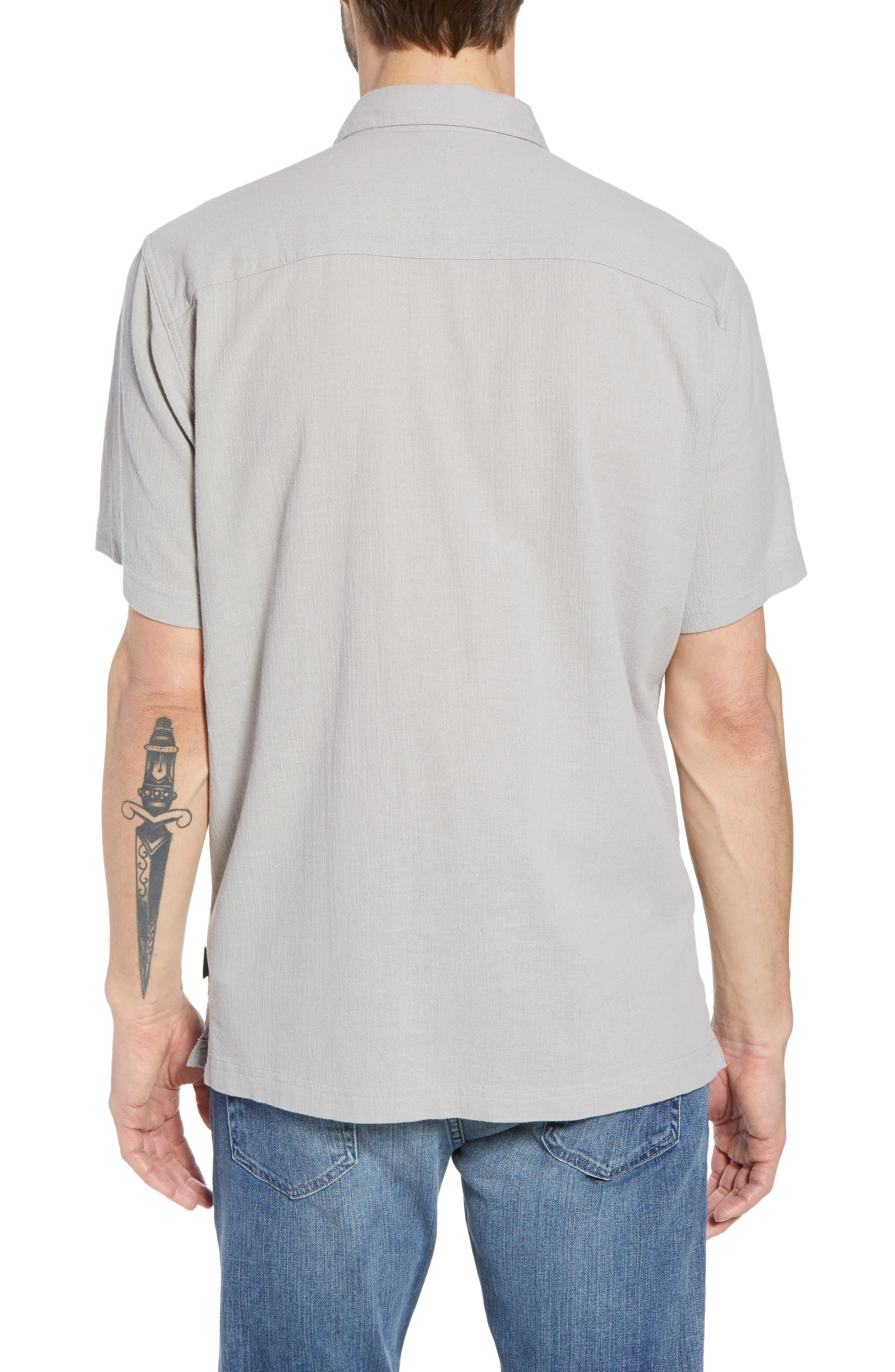 'A/C<sup>®</sup>' Regular Fit Organic Cotton Short Sleeve Sport Shirt,                             Alternate thumbnail 2, color,                             022