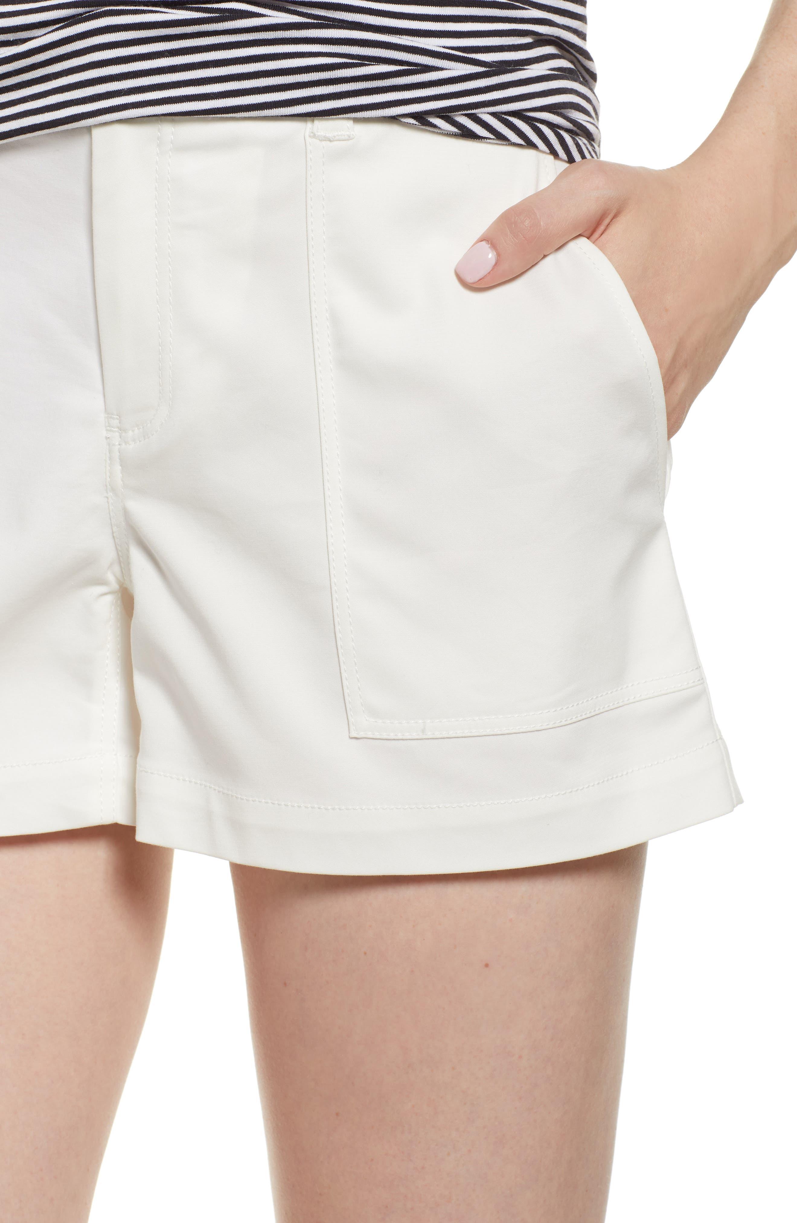 Patch Pocket Shorts,                             Alternate thumbnail 4, color,                             100