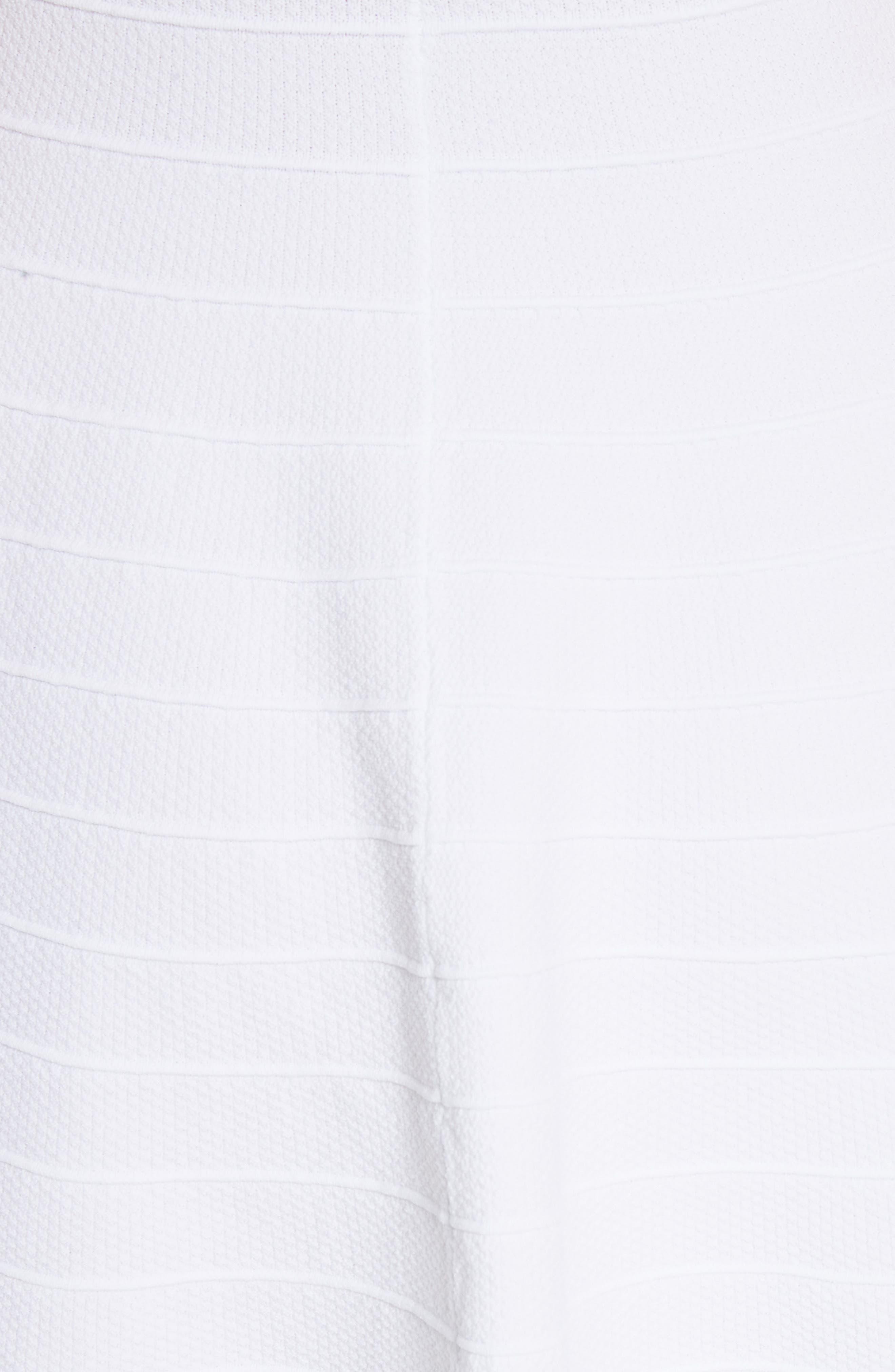 Streena Knit Skater Dress,                             Alternate thumbnail 5, color,                             110