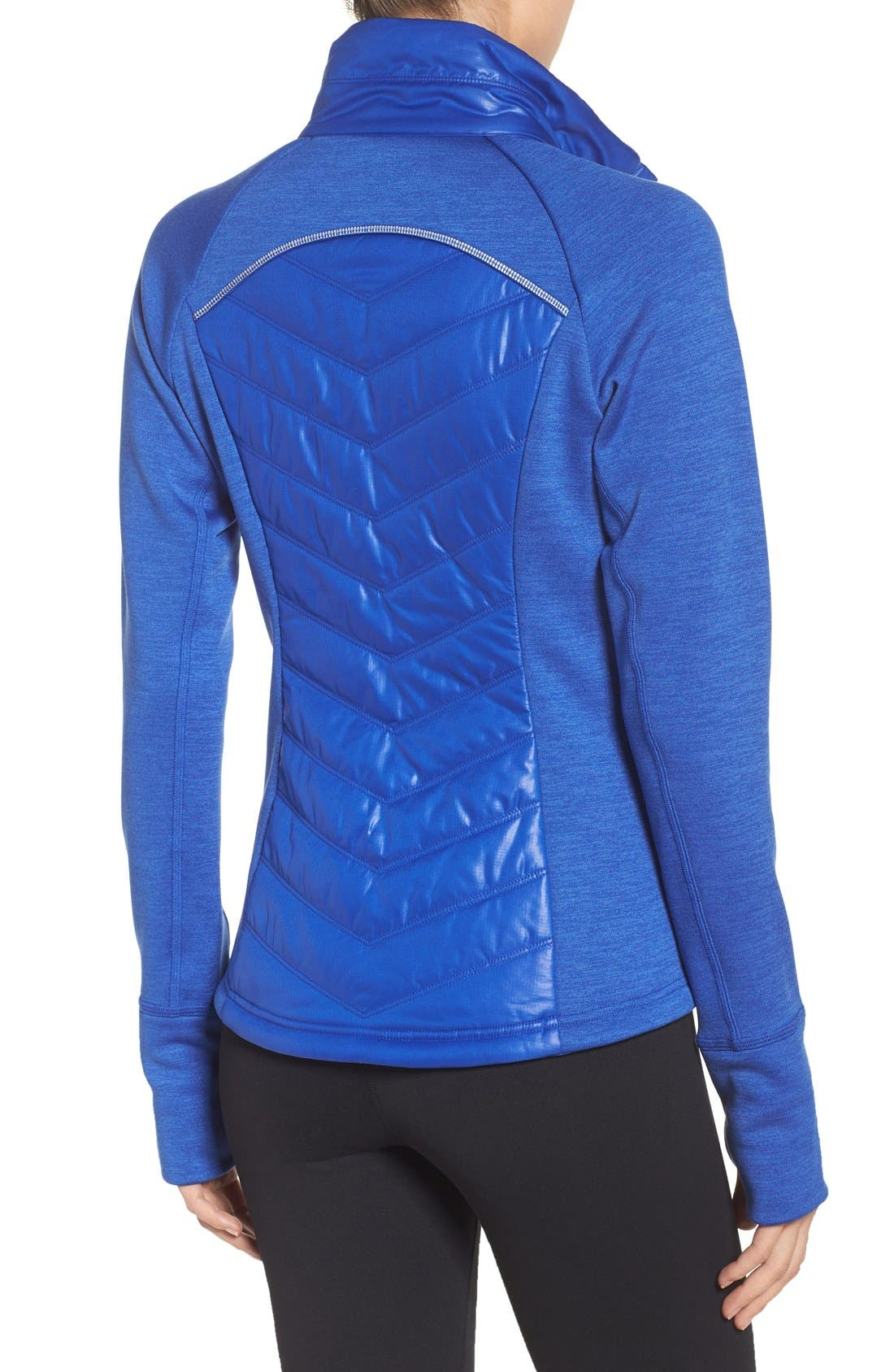 Zelfusion Reflective Quilted Jacket,                             Alternate thumbnail 42, color,