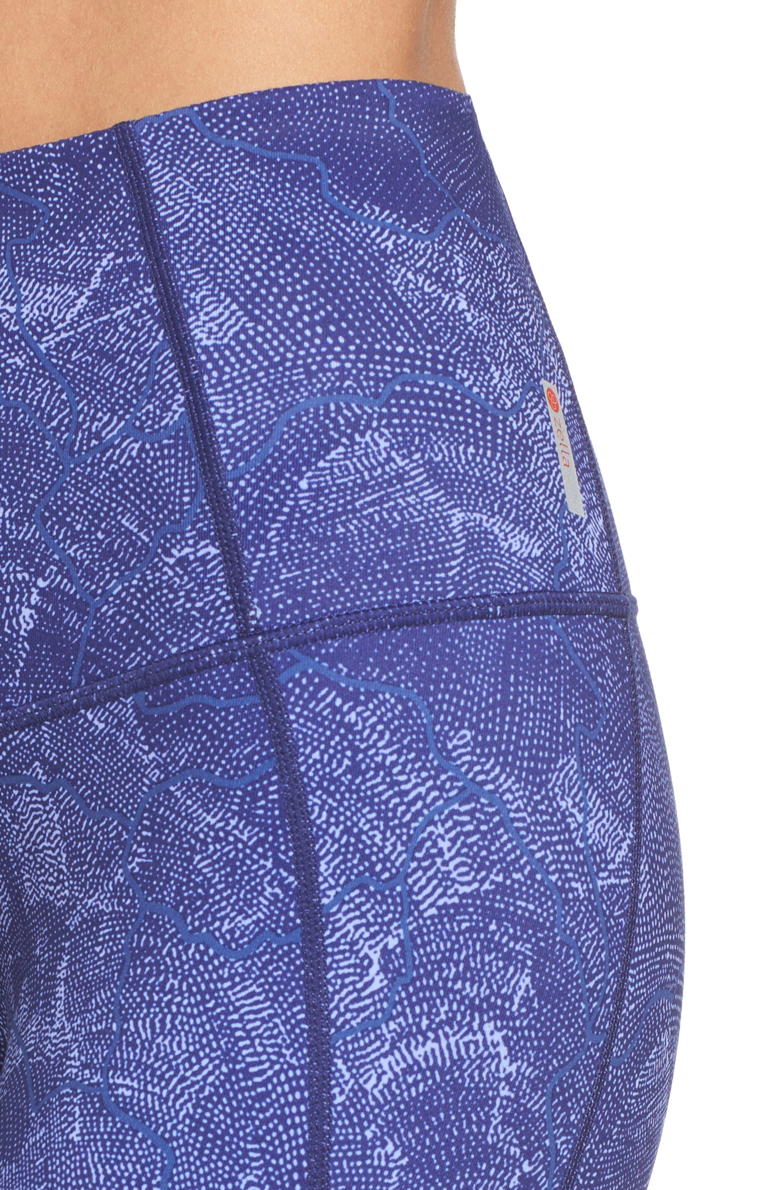 'Hatha' High Waist Crop Leggings,                             Alternate thumbnail 80, color,