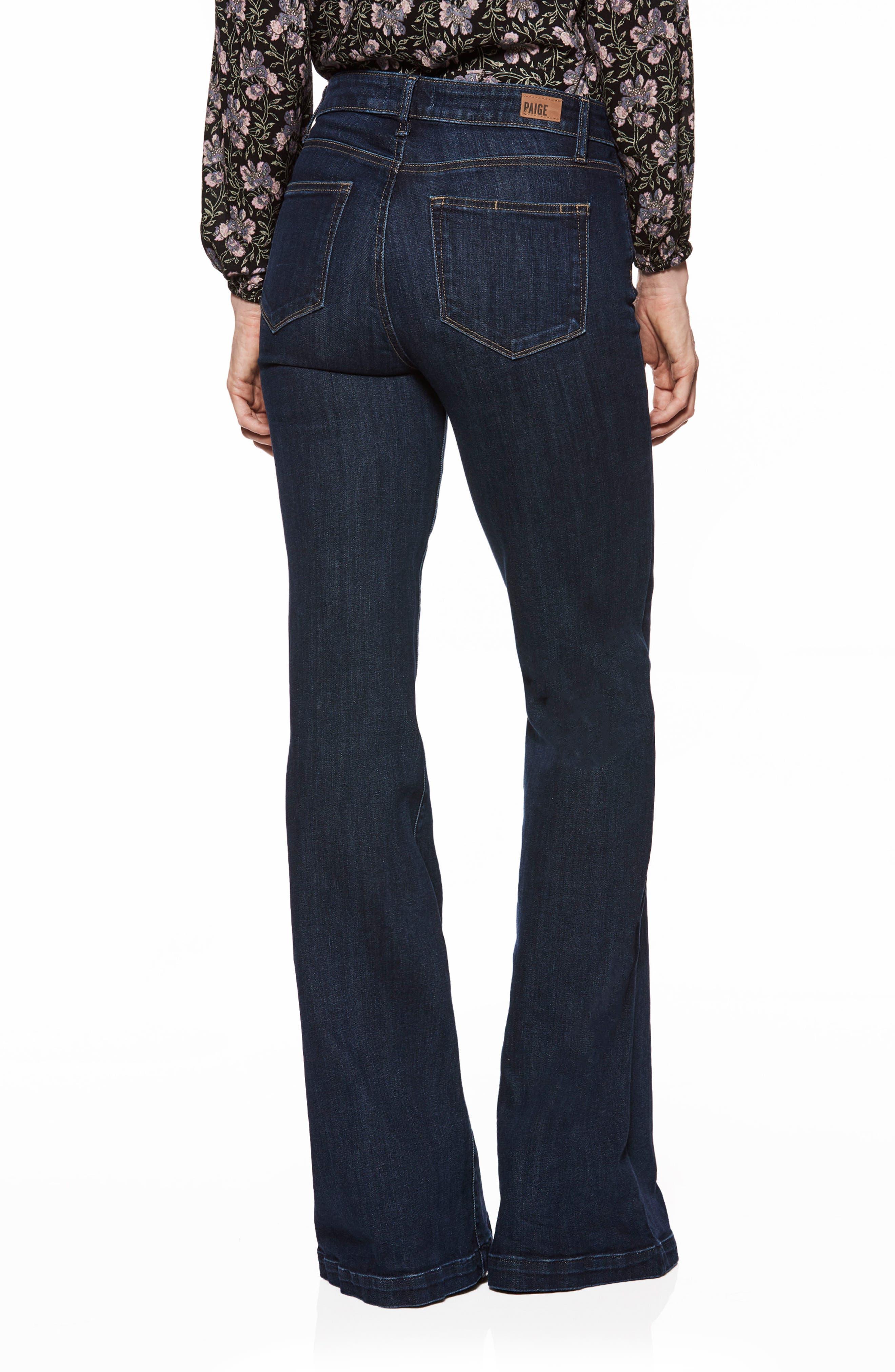 Genevieve Flare Jeans,                             Alternate thumbnail 2, color,                             400