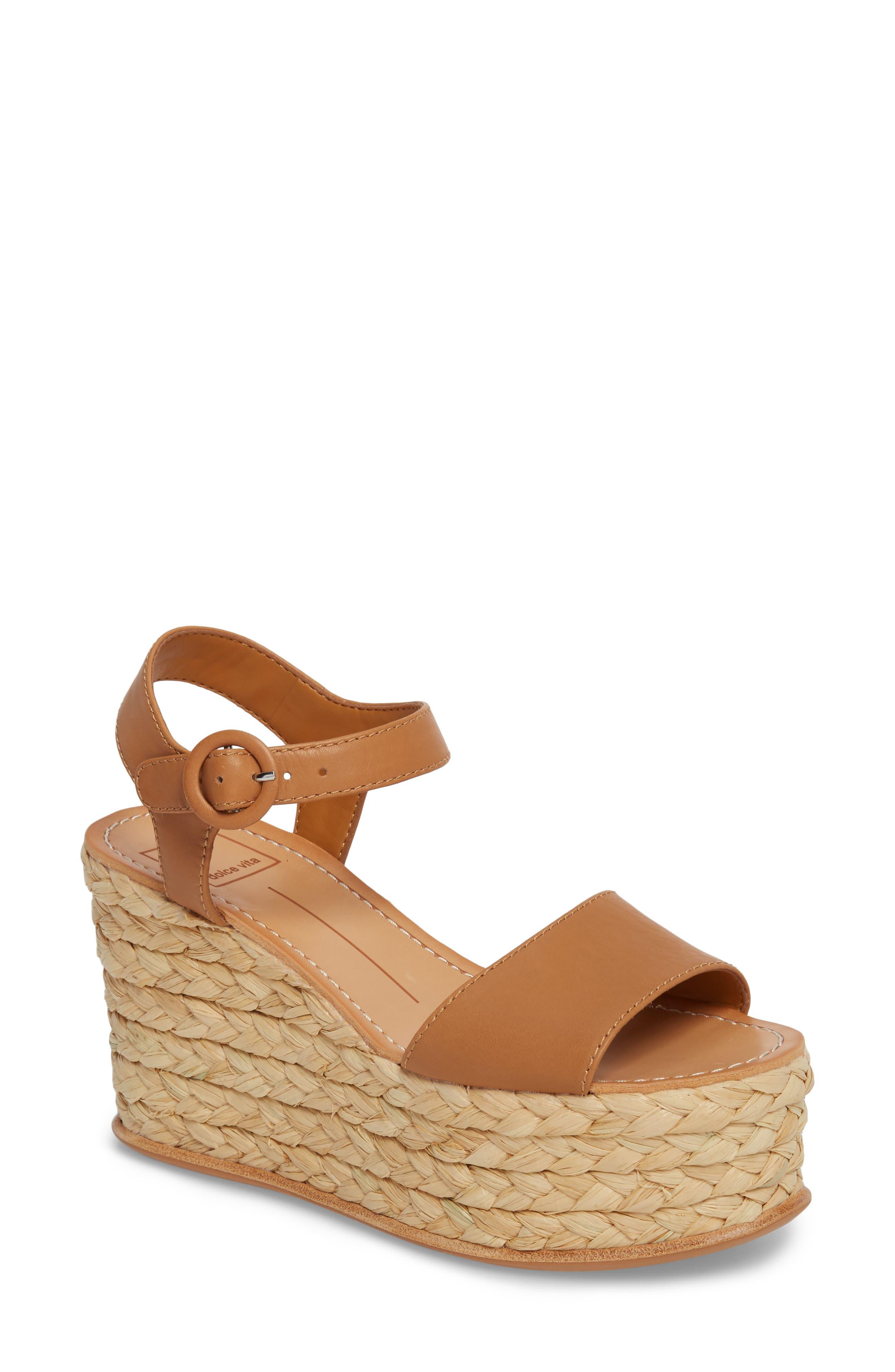 Dane Espadrille Wedge Sandal,                         Main,                         color, 200