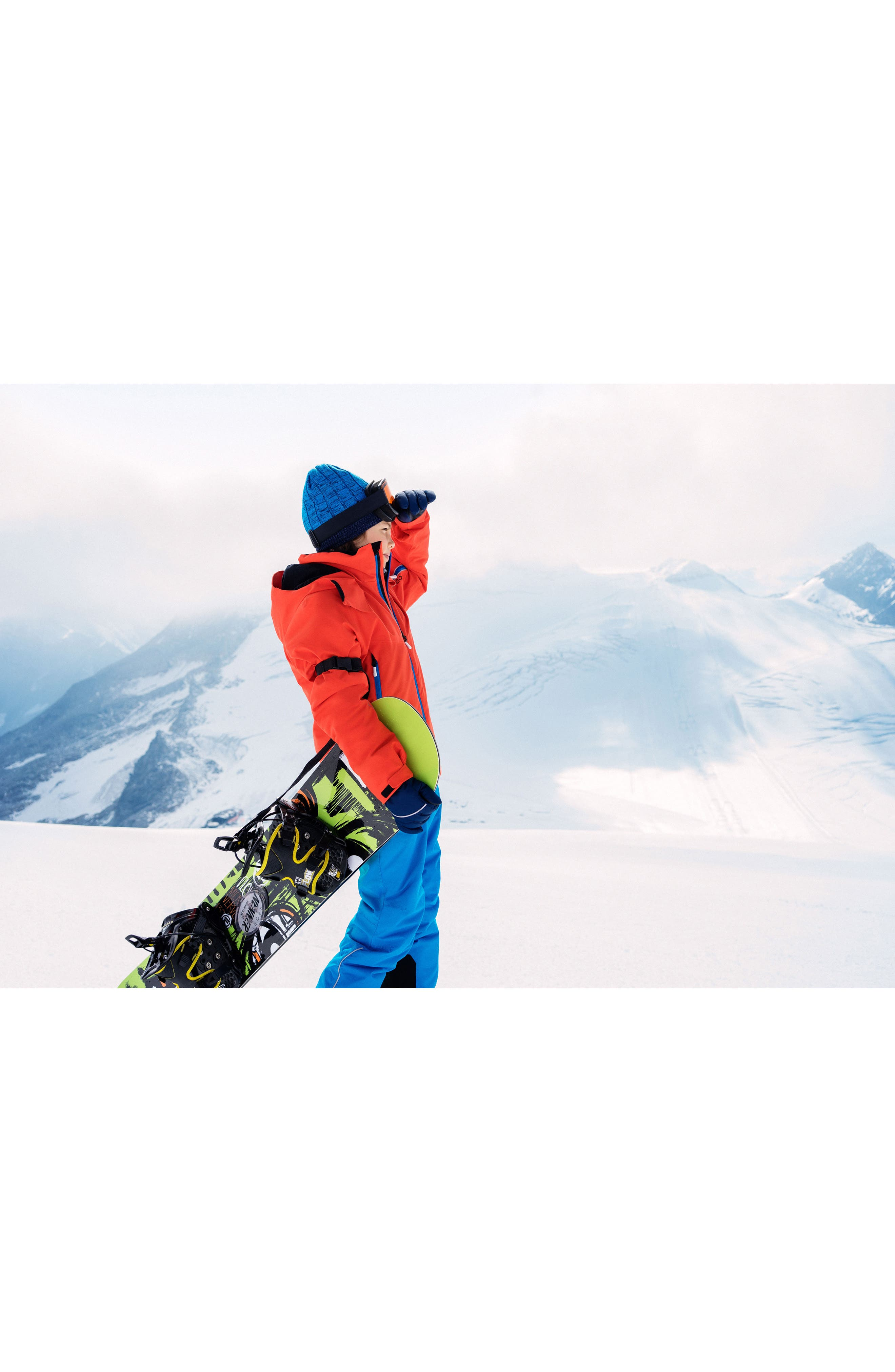 Reimatec<sup>®</sup> Takeoff Waterproof Insulated Snow Pants,                             Alternate thumbnail 5, color,