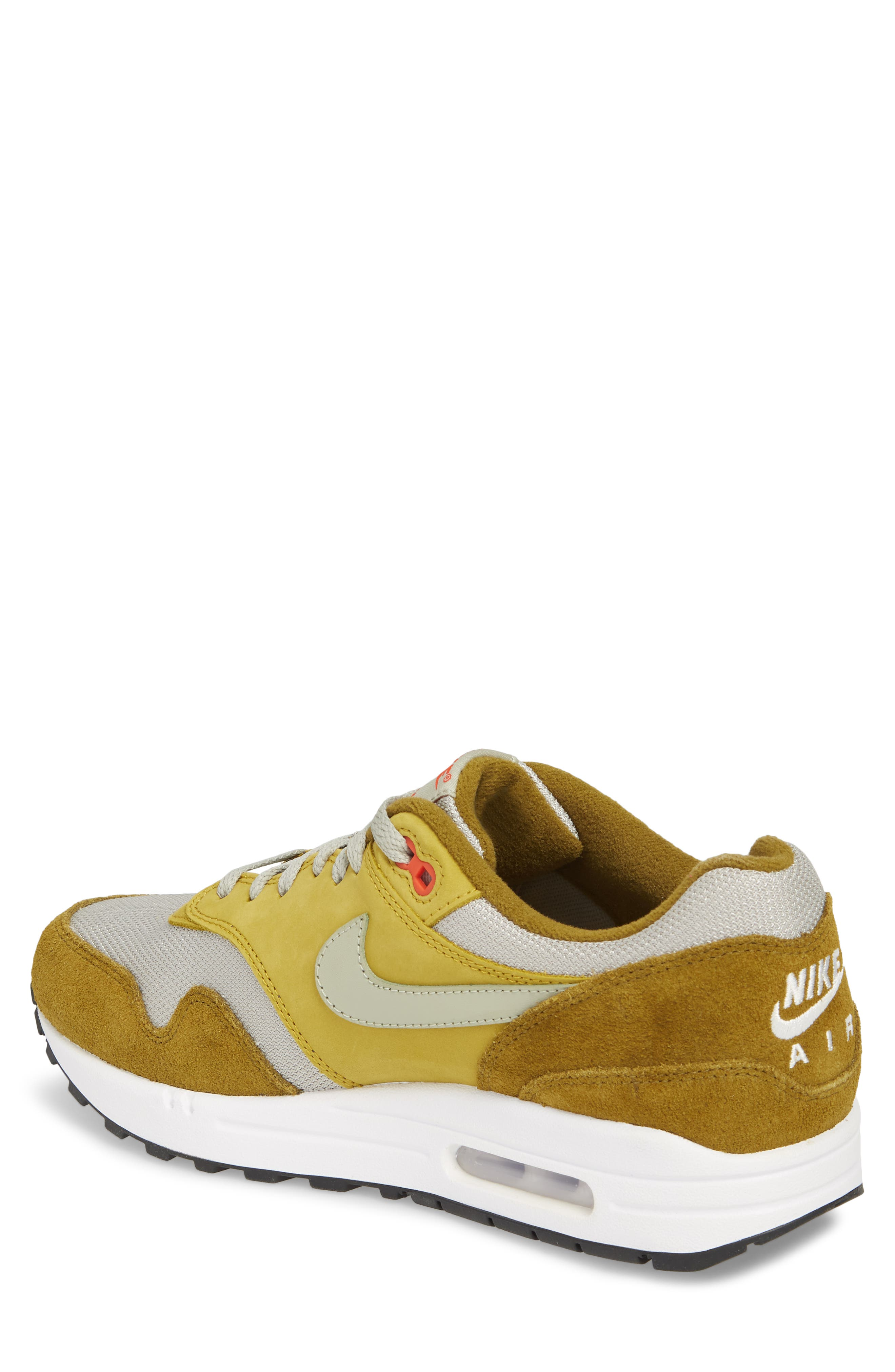 Air Max 1 Premium Retro Sneaker,                             Alternate thumbnail 3, color,