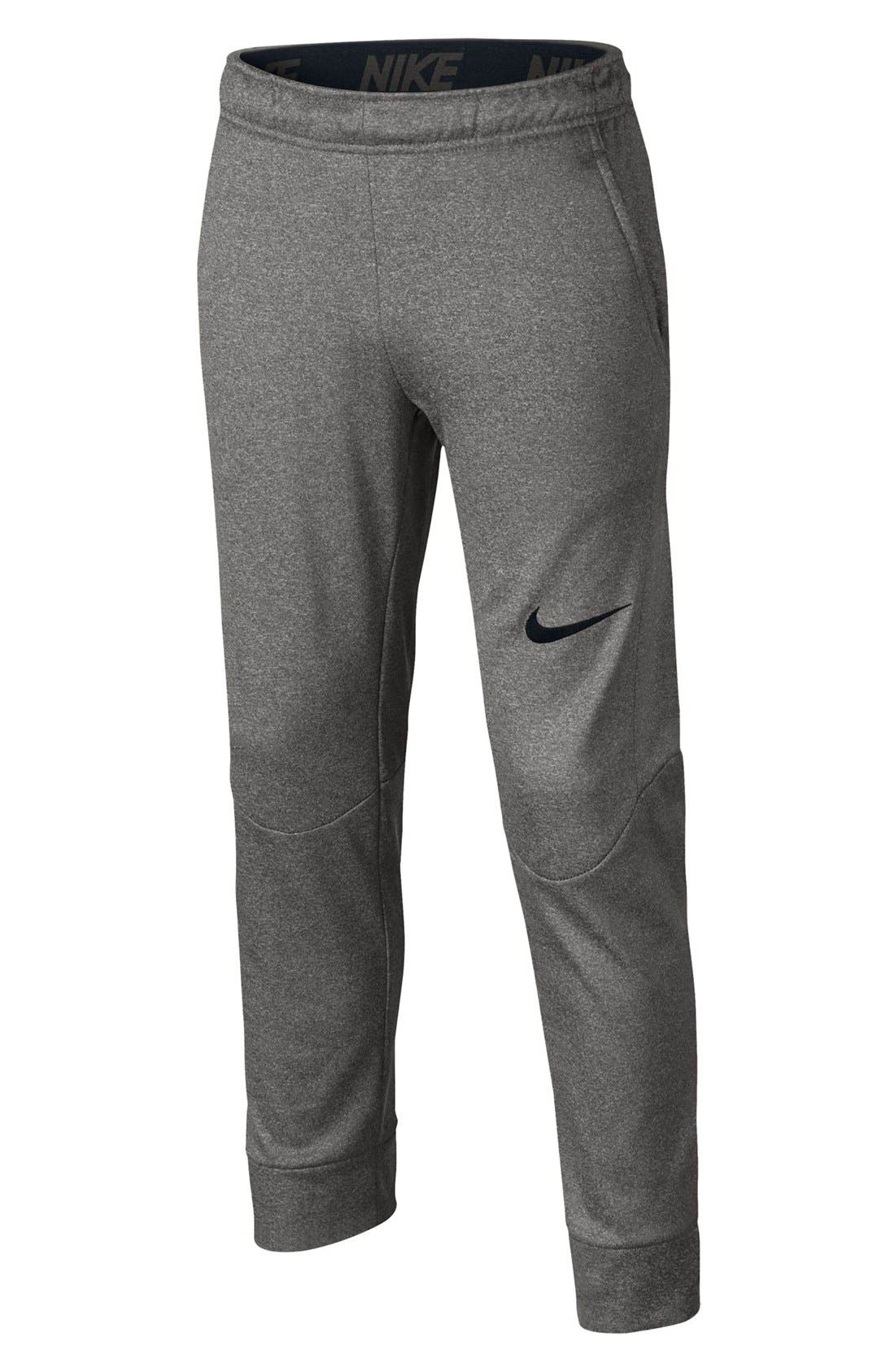 Therma-FIT Tapered Fleece Pants,                             Main thumbnail 4, color,