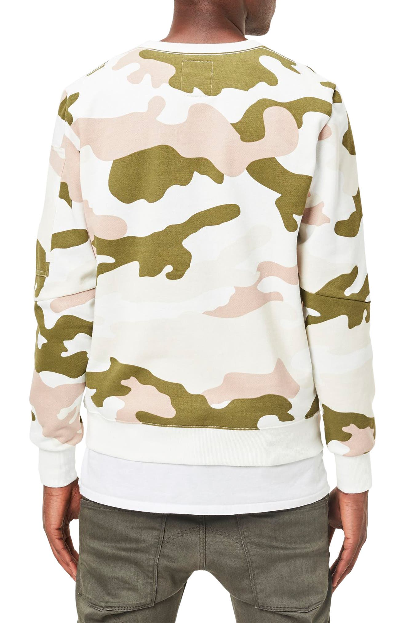 Stalt Camo Sweatshirt,                             Alternate thumbnail 2, color,