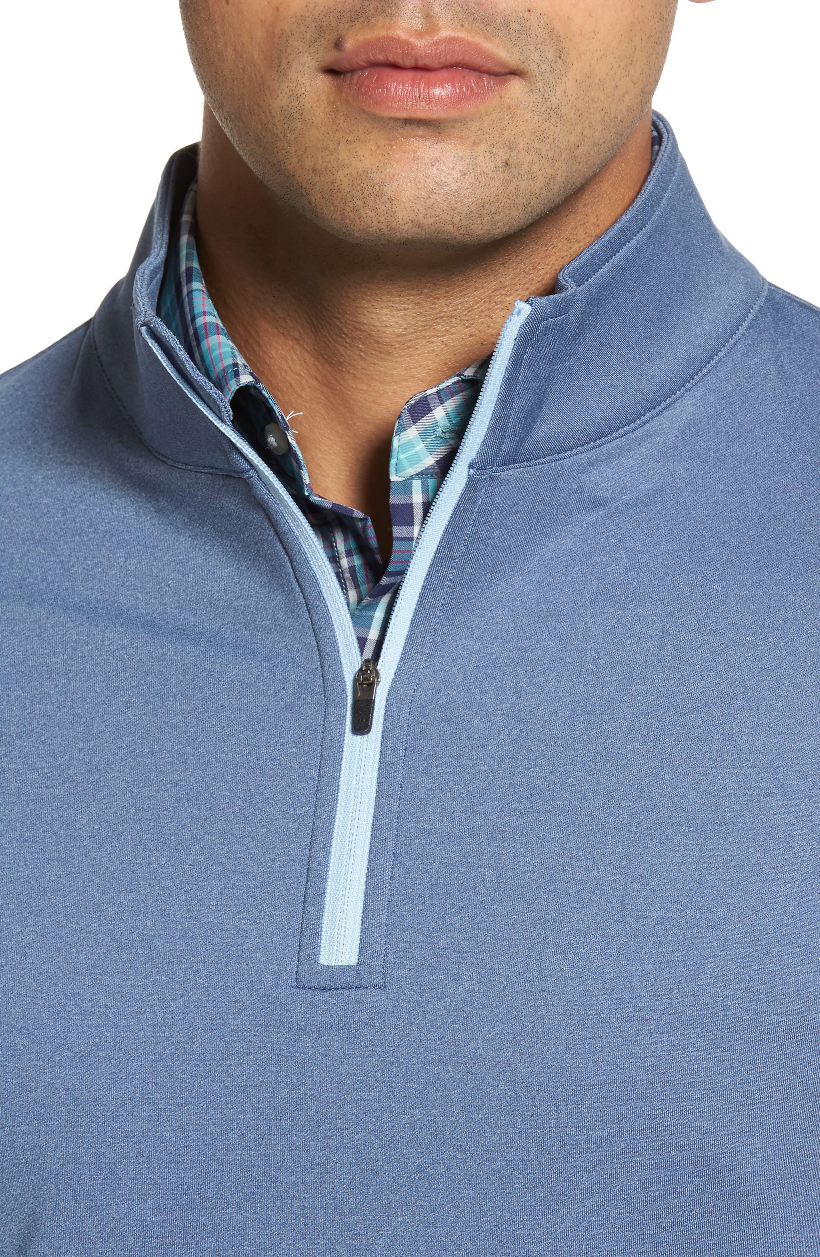 Perth Quarter Zip Stretch Pullover,                             Alternate thumbnail 17, color,