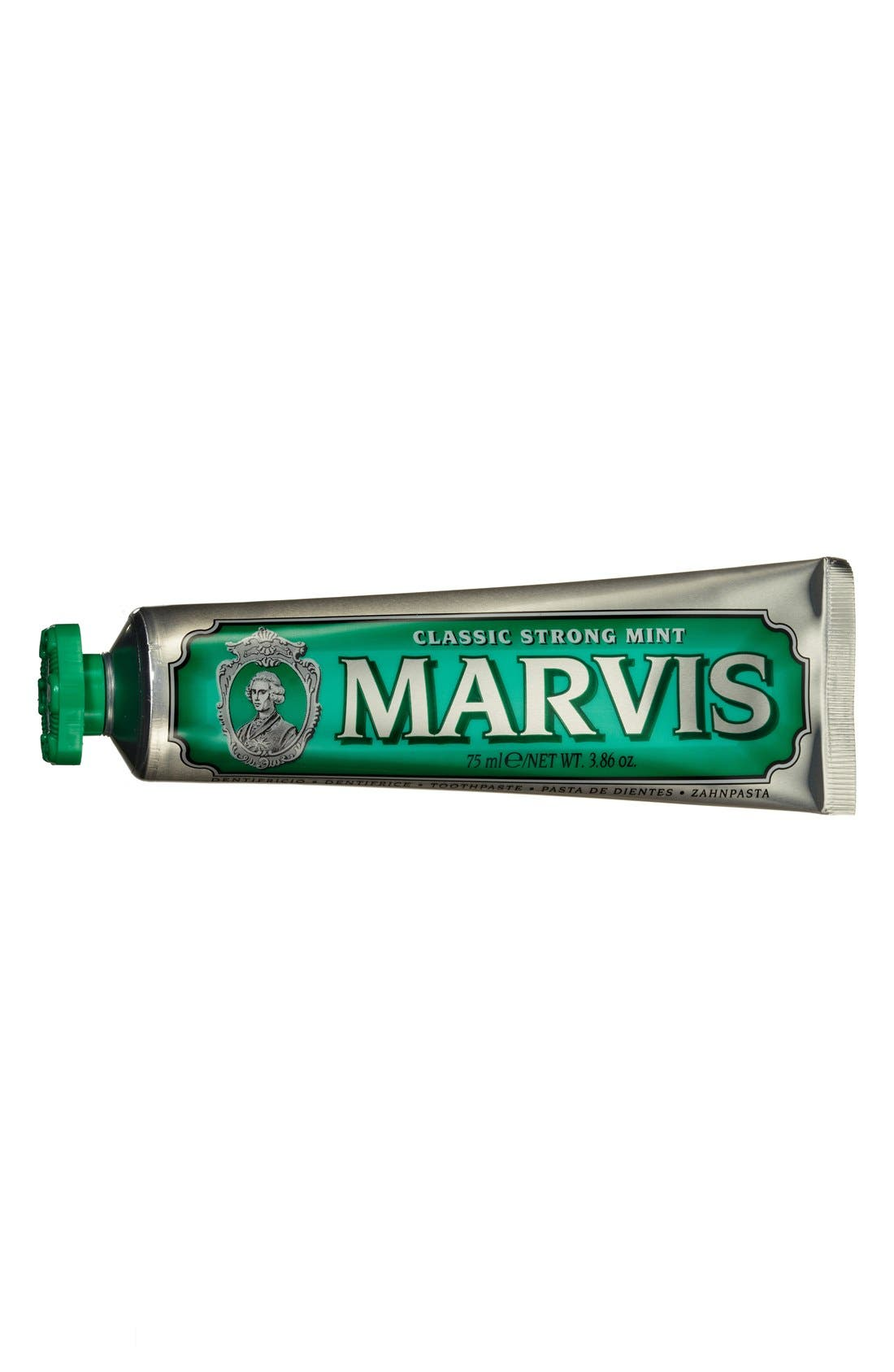 'Marvis' Mint Toothpaste,                             Main thumbnail 1, color,                             CLASSIC STRONG MINT