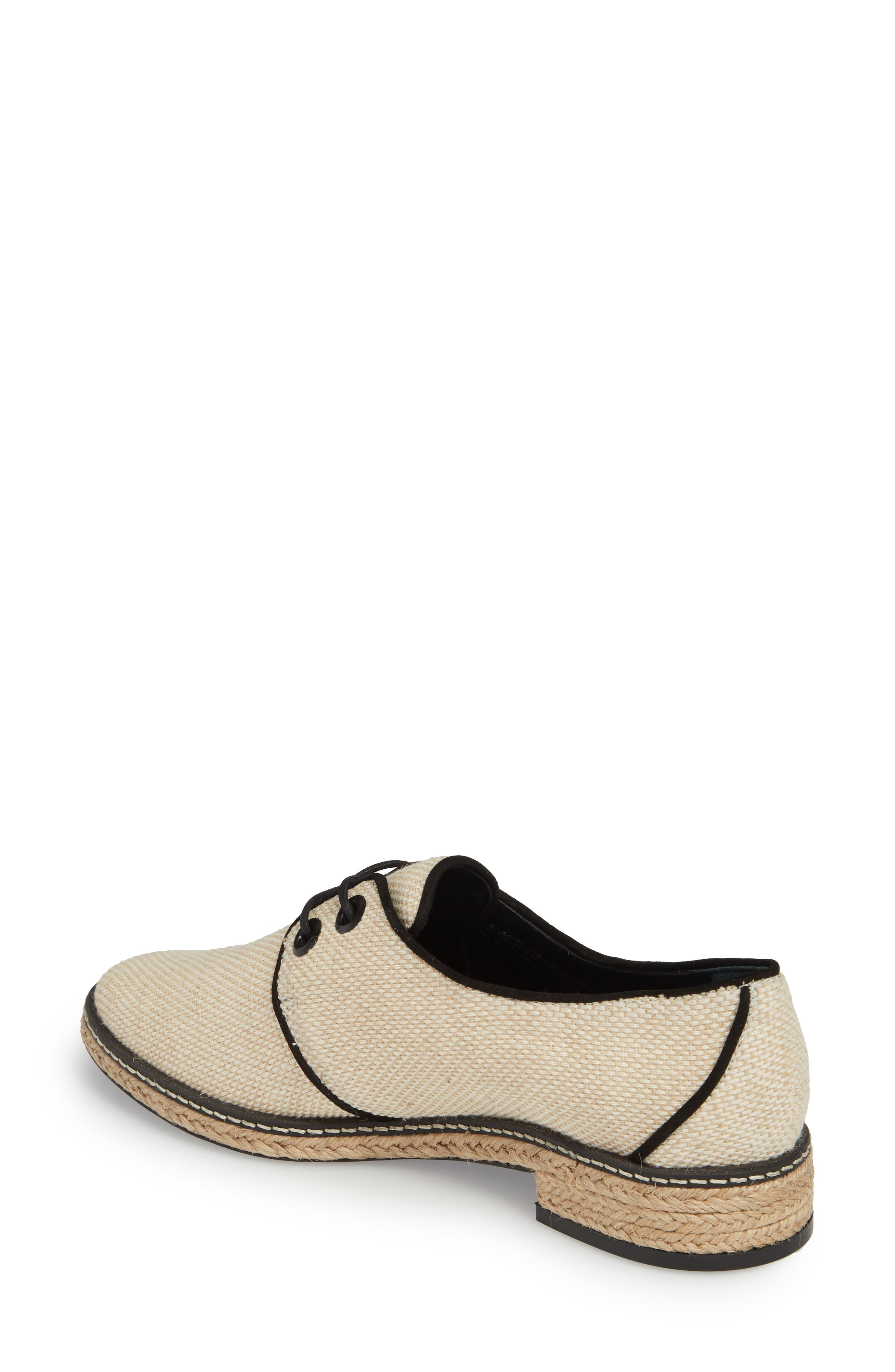 Fawn Espadrille Oxford,                             Alternate thumbnail 2, color,                             254