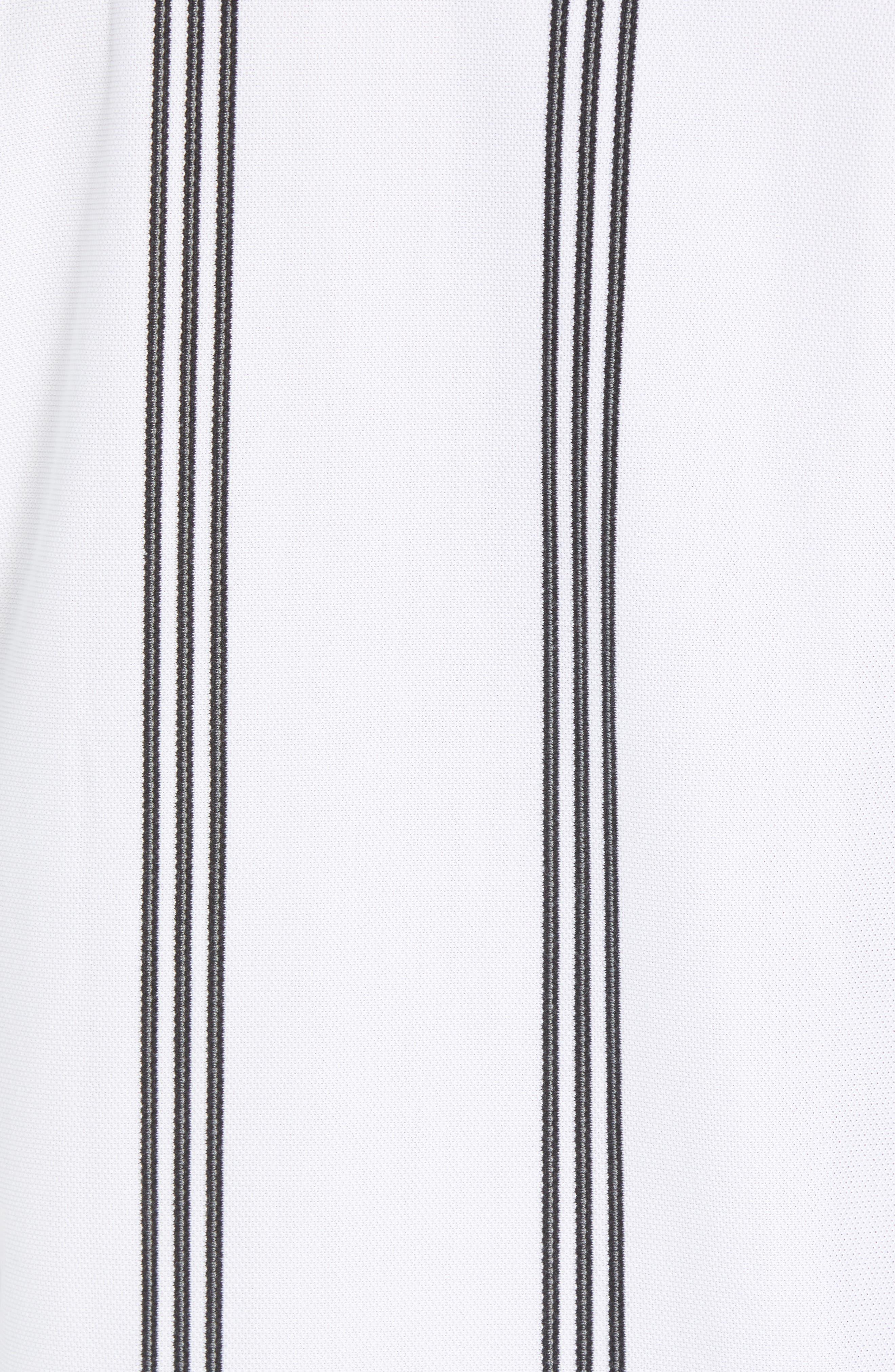 Stripe Tennis T-Shirt,                             Alternate thumbnail 5, color,                             100