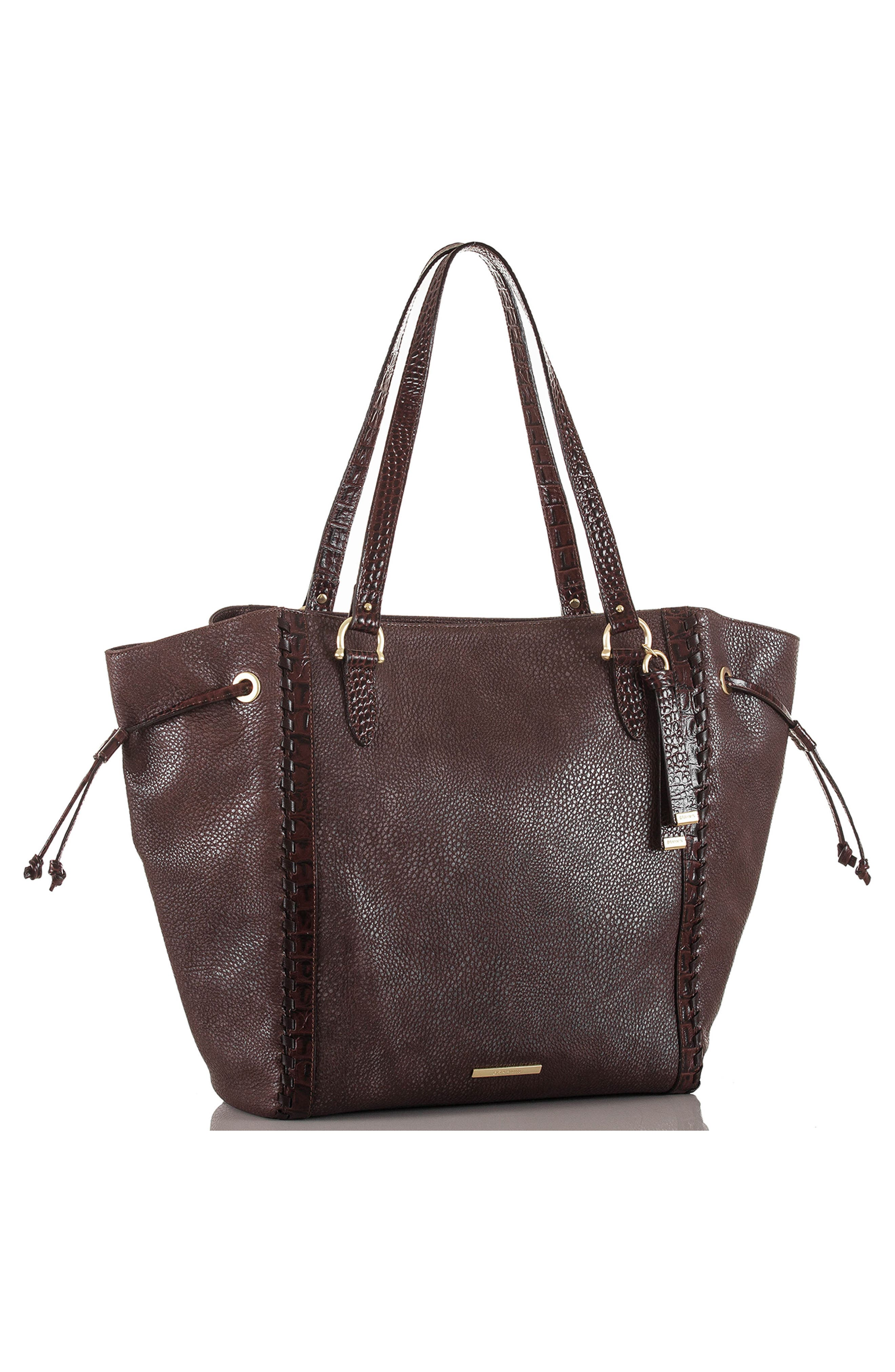 Southcoast Cheyenne Leather Tote,                             Alternate thumbnail 4, color,                             200