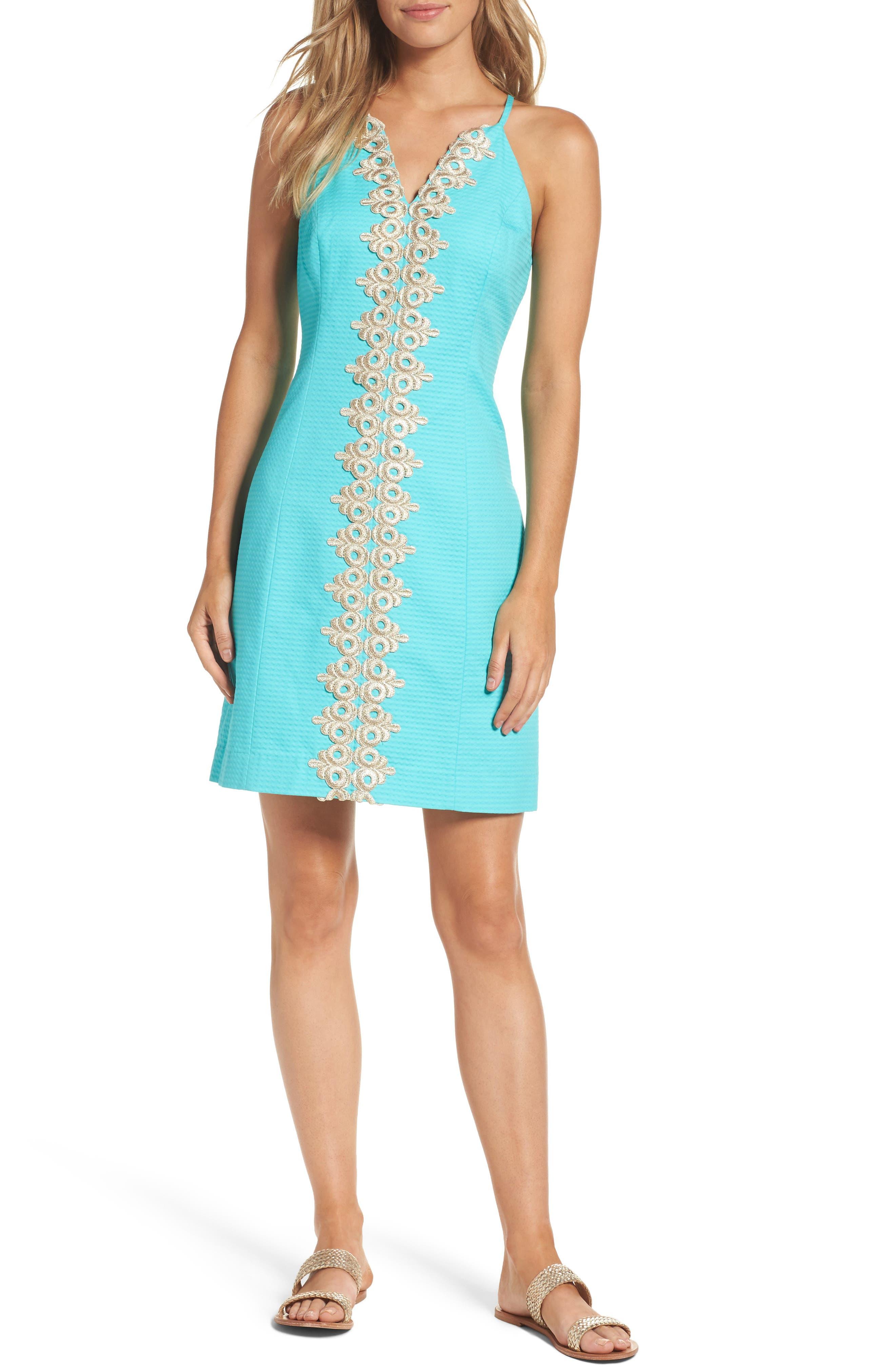 Pearl Sheath Dress,                         Main,                         color, 436