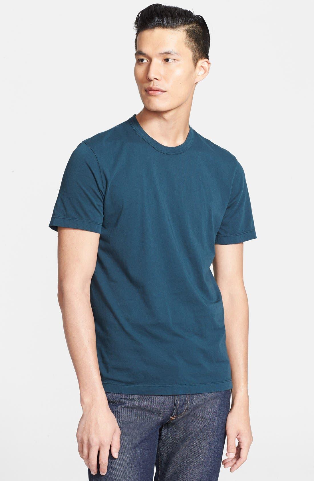 Crewneck Jersey T-Shirt,                             Main thumbnail 11, color,