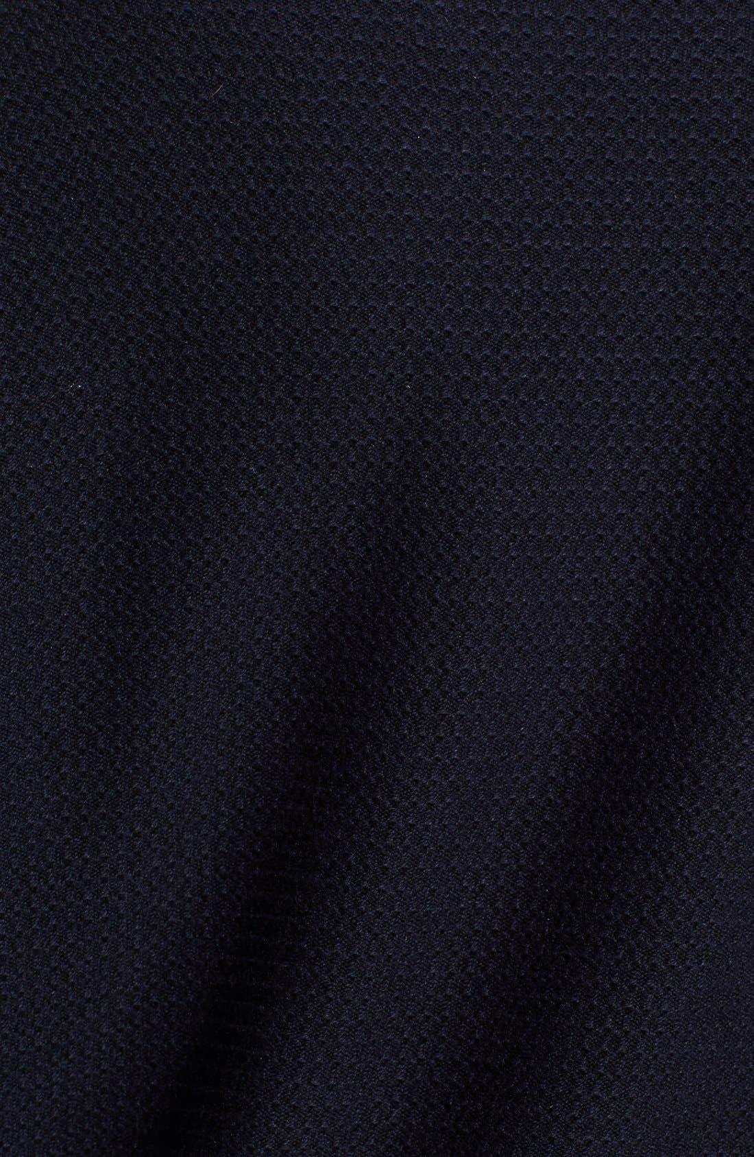 A.P.C.,                             'West Coast' Waffle Knit Sweater Dress,                             Alternate thumbnail 3, color,                             410