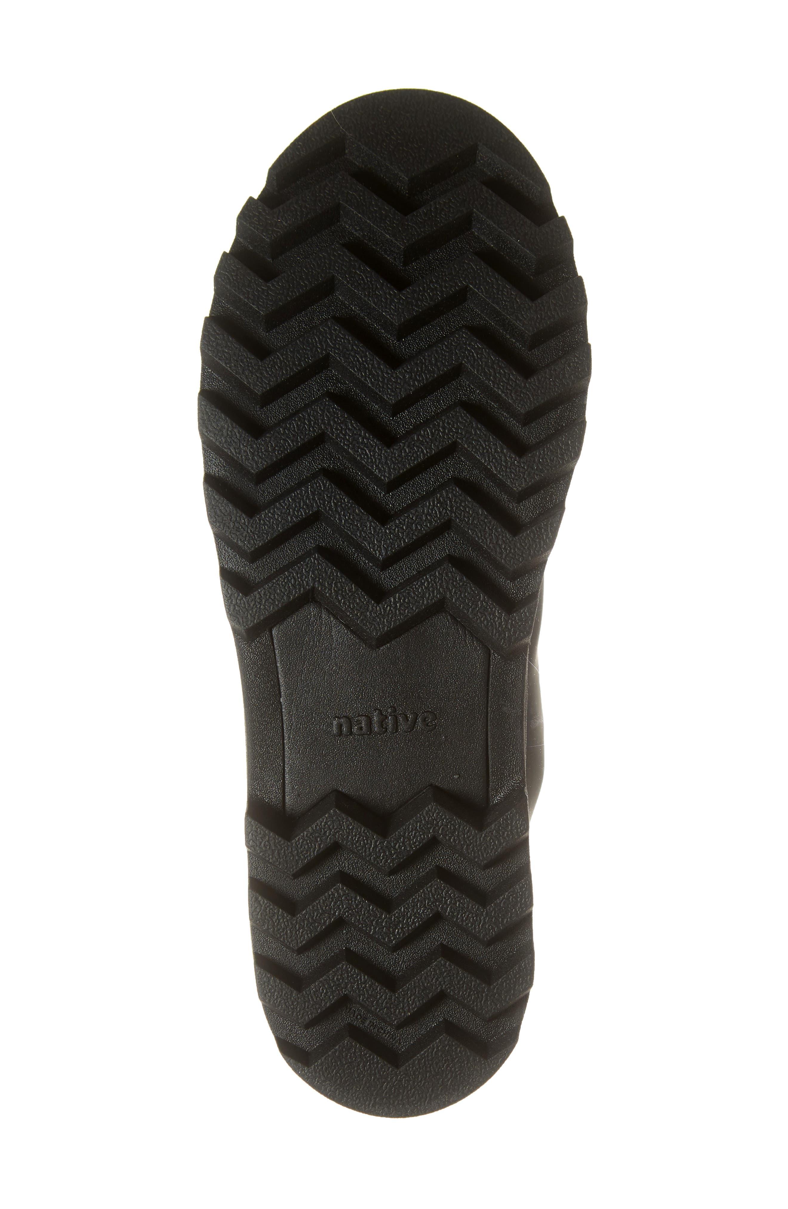 Native Johnny Treklite Water Repellent Boot,                             Alternate thumbnail 6, color,                             JIFFY BLACK/ JIFFY BLACK