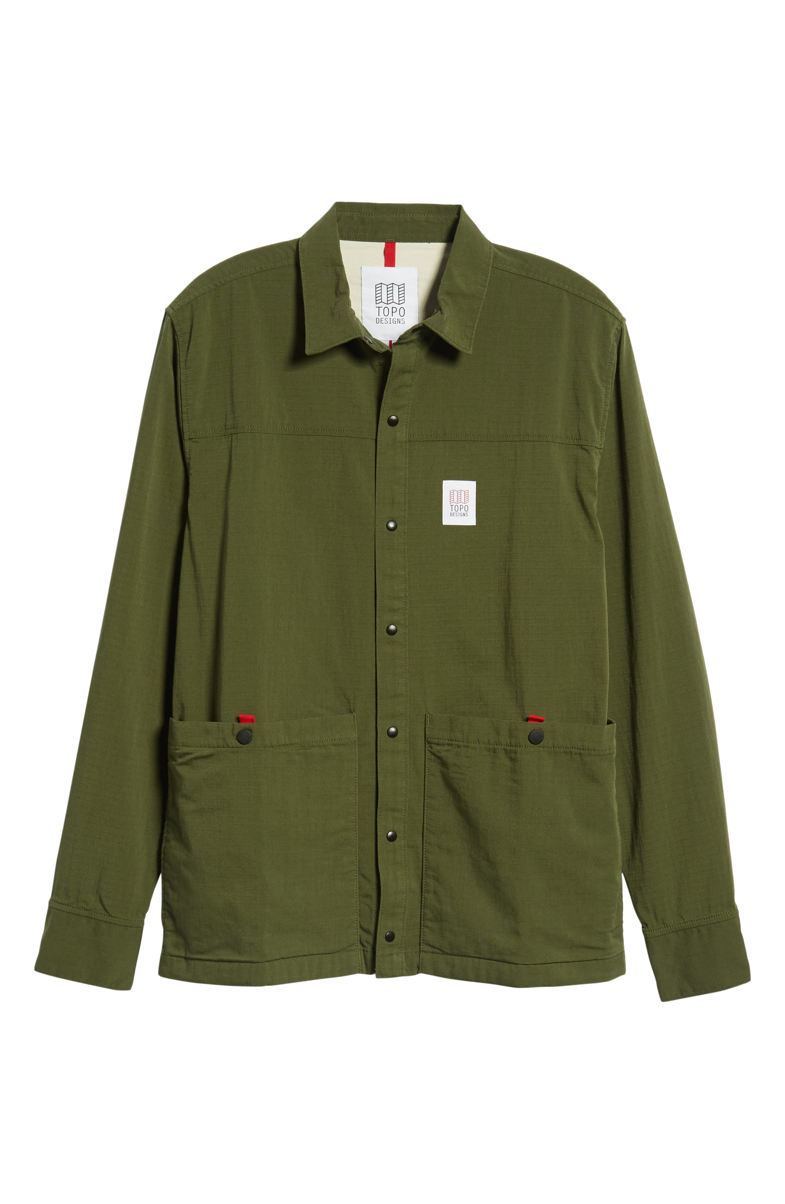 Field Jacket,                             Alternate thumbnail 6, color,                             OLIVE