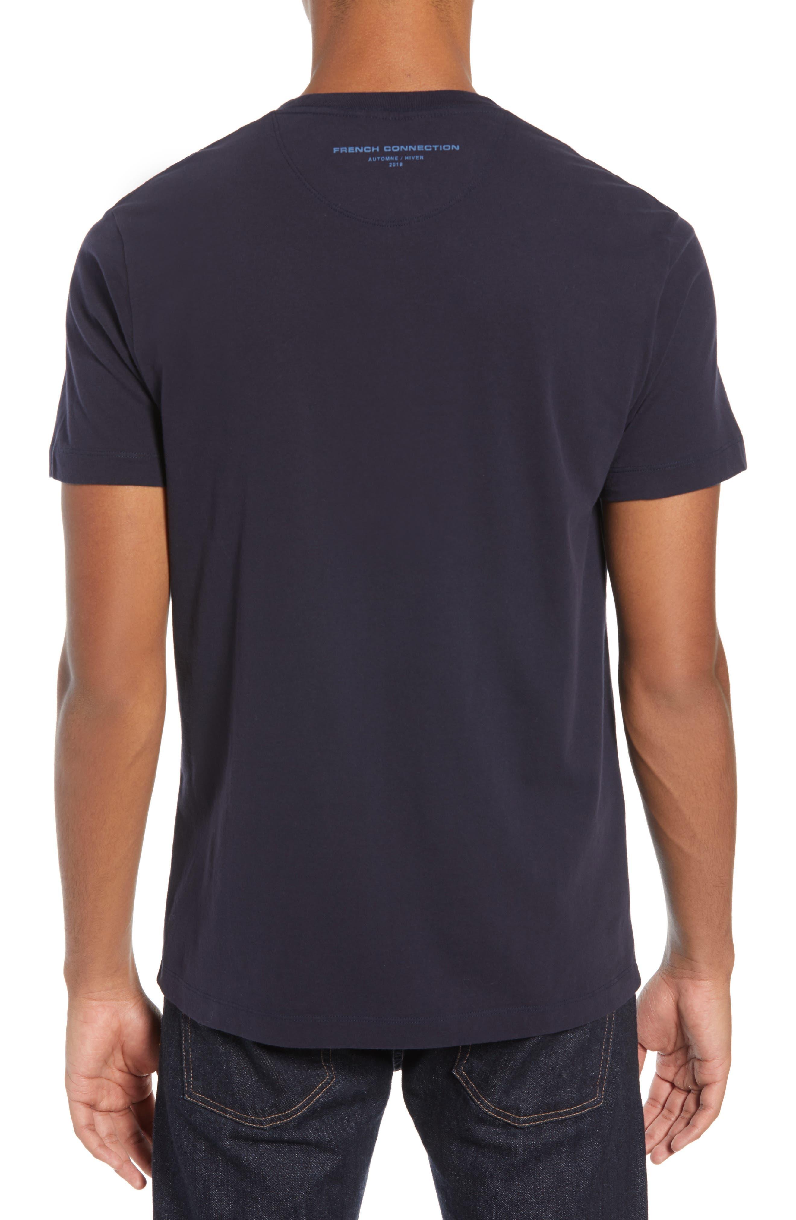 Decks Regular Fit Cotton T-Shirt,                             Alternate thumbnail 2, color,                             UTILITY BLUE BLACK