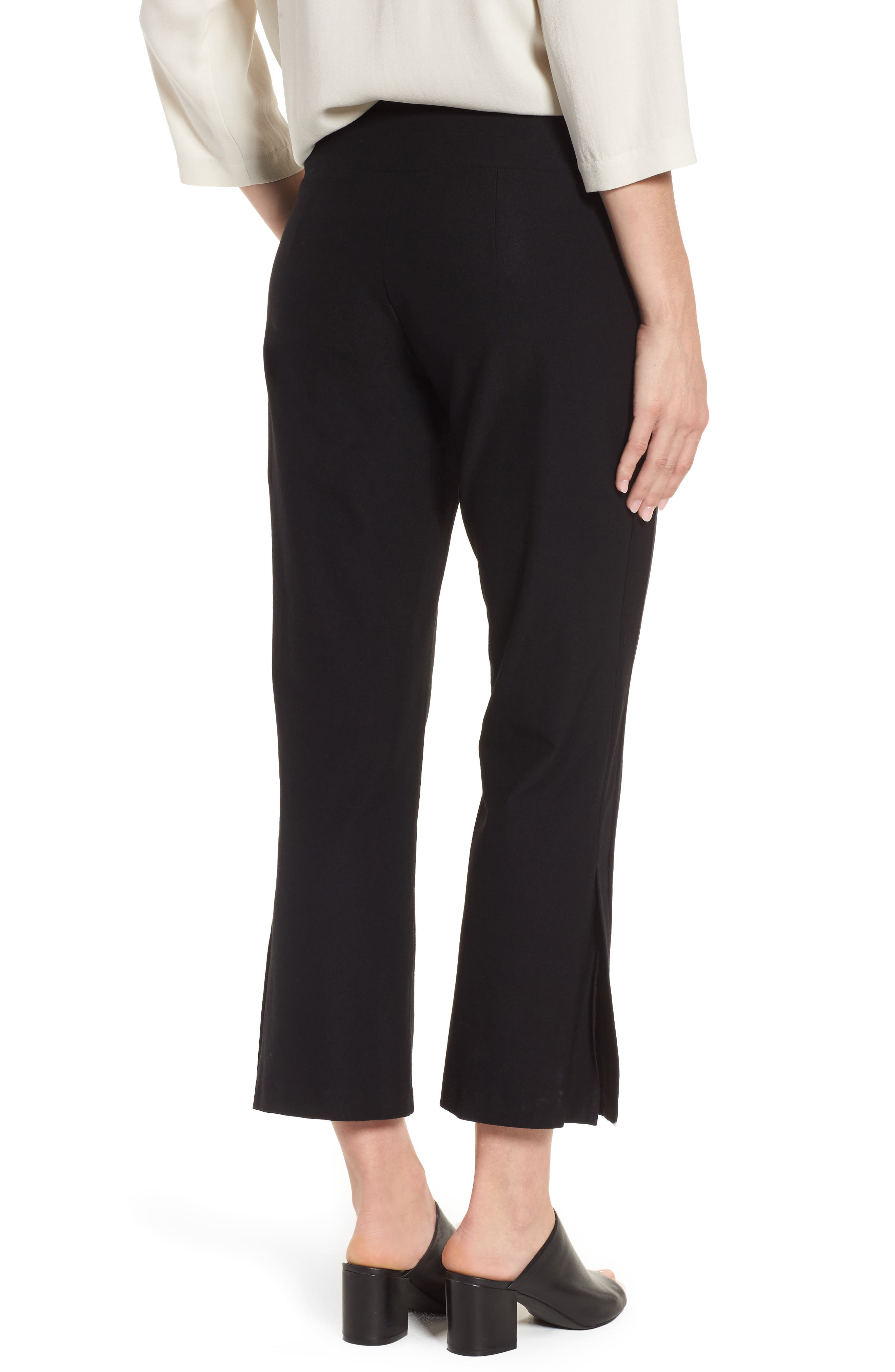 Bootcut Crop Pants,                             Alternate thumbnail 6, color,