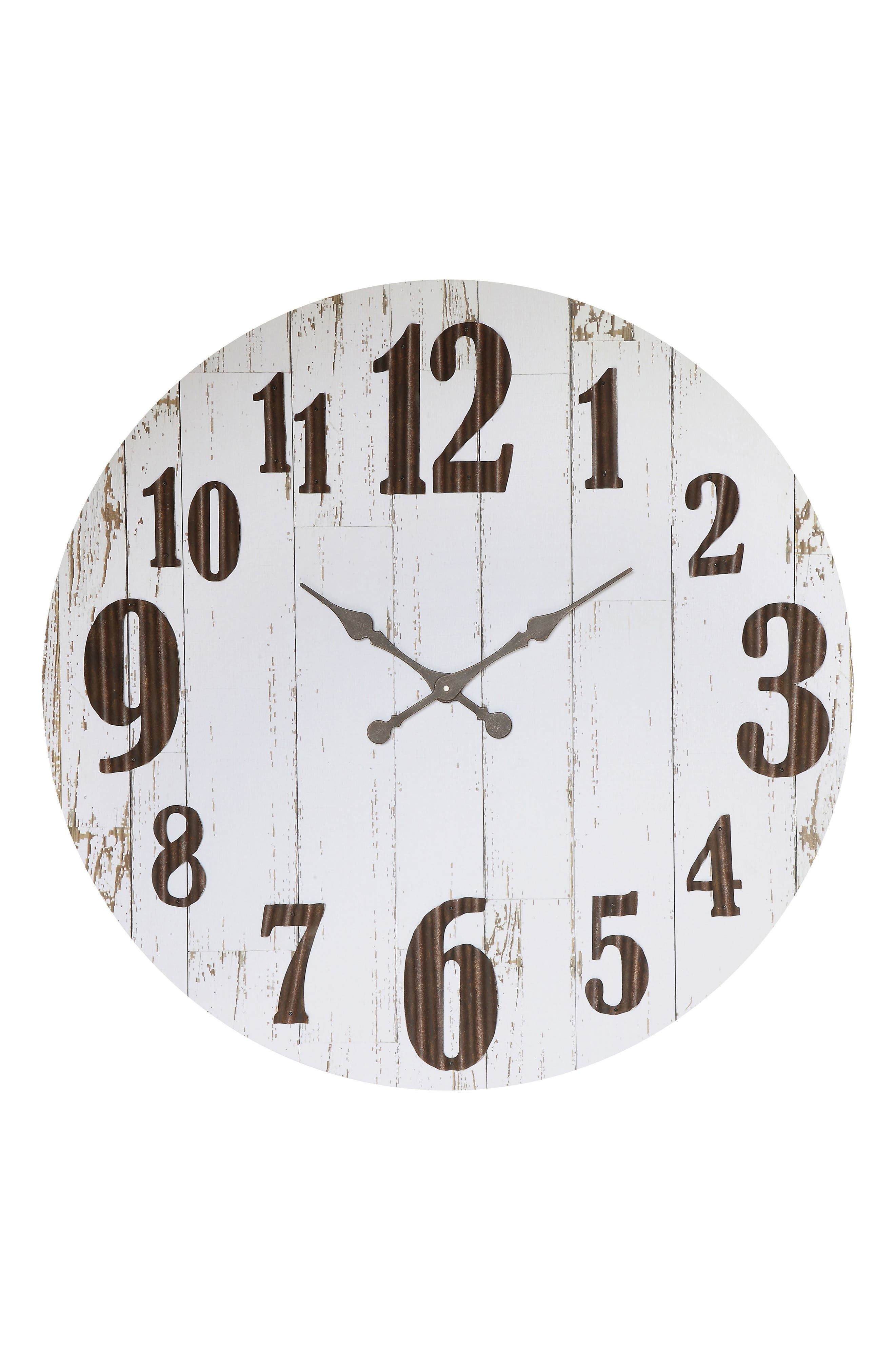 Large Wall Clock,                             Alternate thumbnail 2, color,                             100