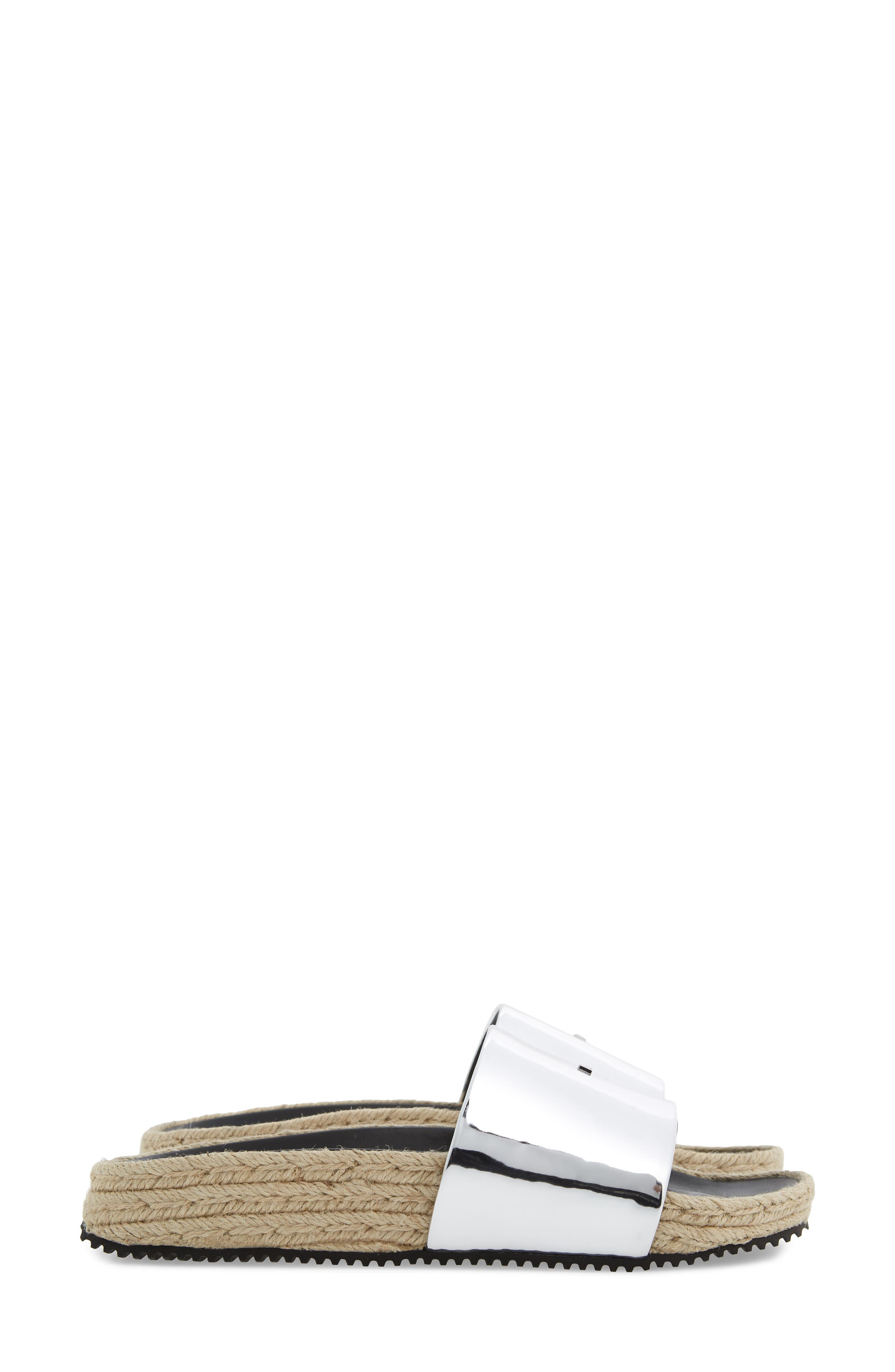 Suki Espadrille Slide Sandal,                             Alternate thumbnail 4, color,                             043