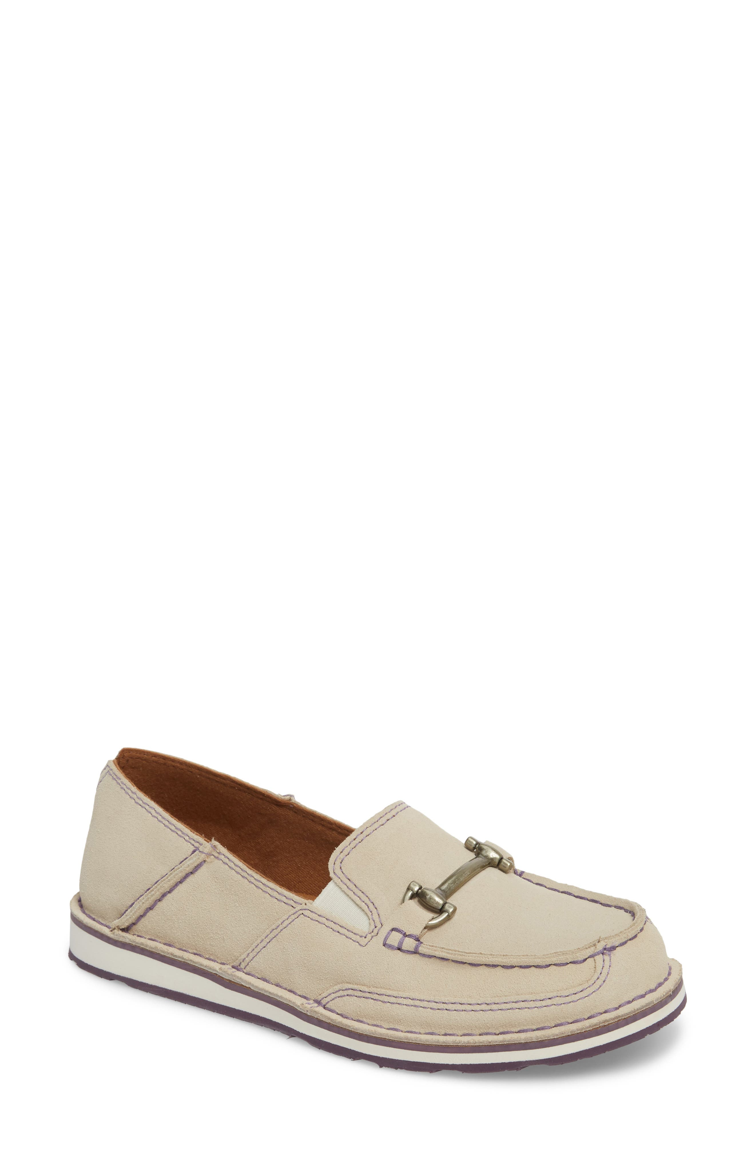 ARIAT,                             Cruiser Castaway Loafer,                             Main thumbnail 1, color,                             CRUISER SAND SUEDE