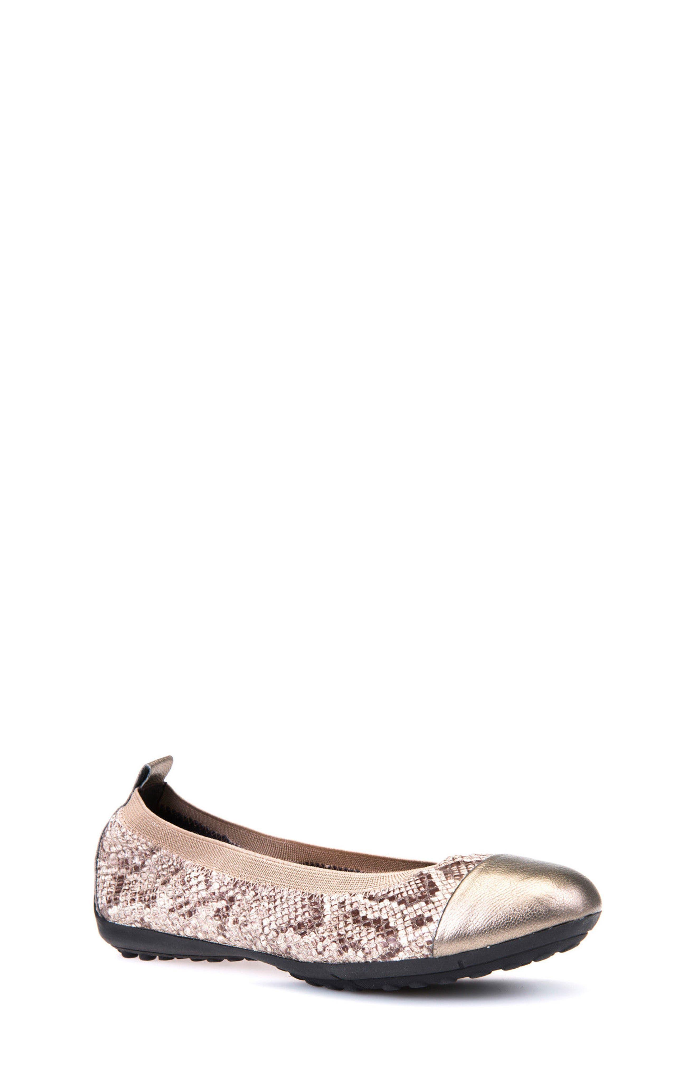 Jr Piuma Cap Toe Ballerina Flat,                         Main,                         color, 260