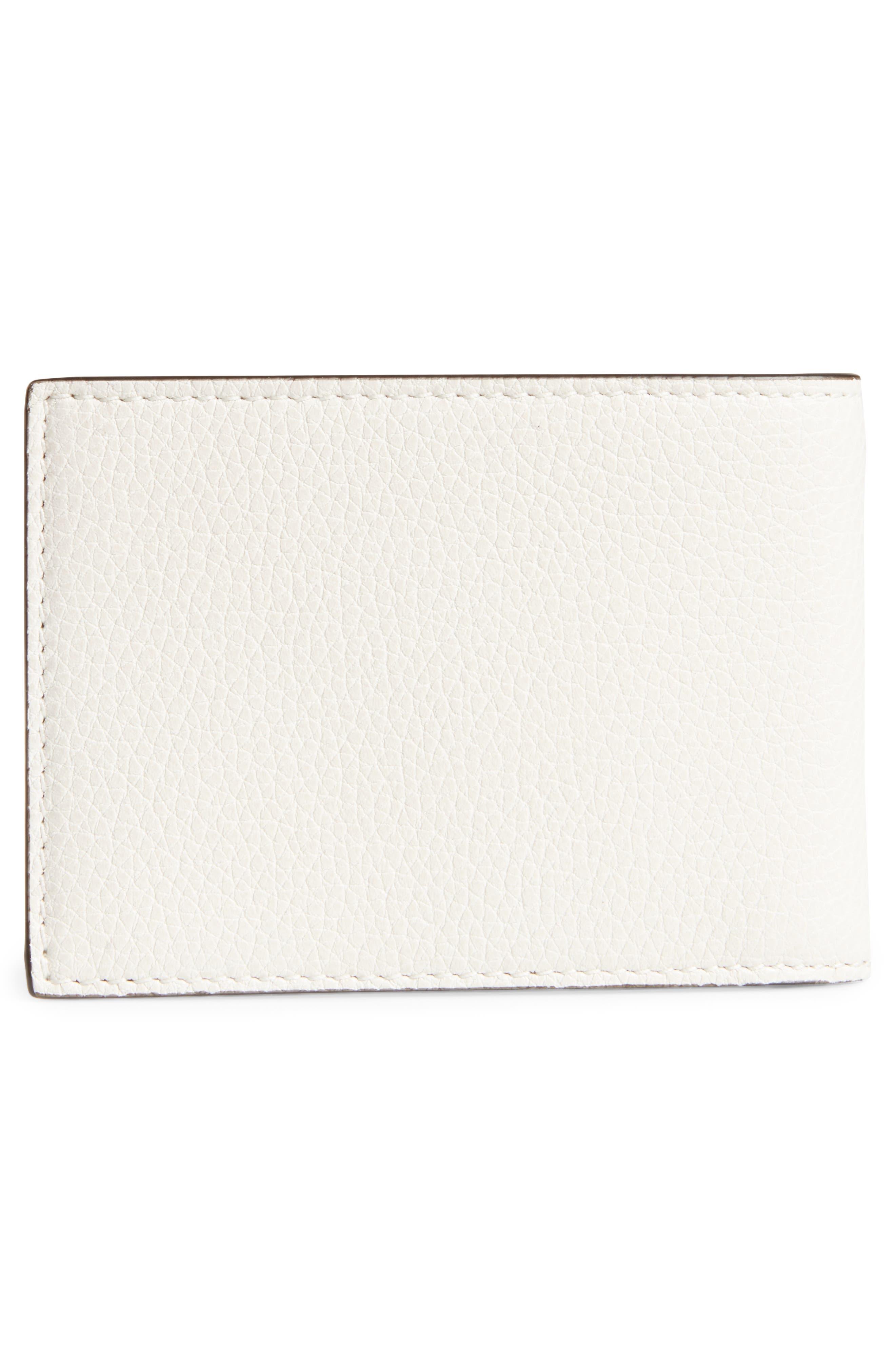 Wallet,                             Alternate thumbnail 3, color,                             WHITE