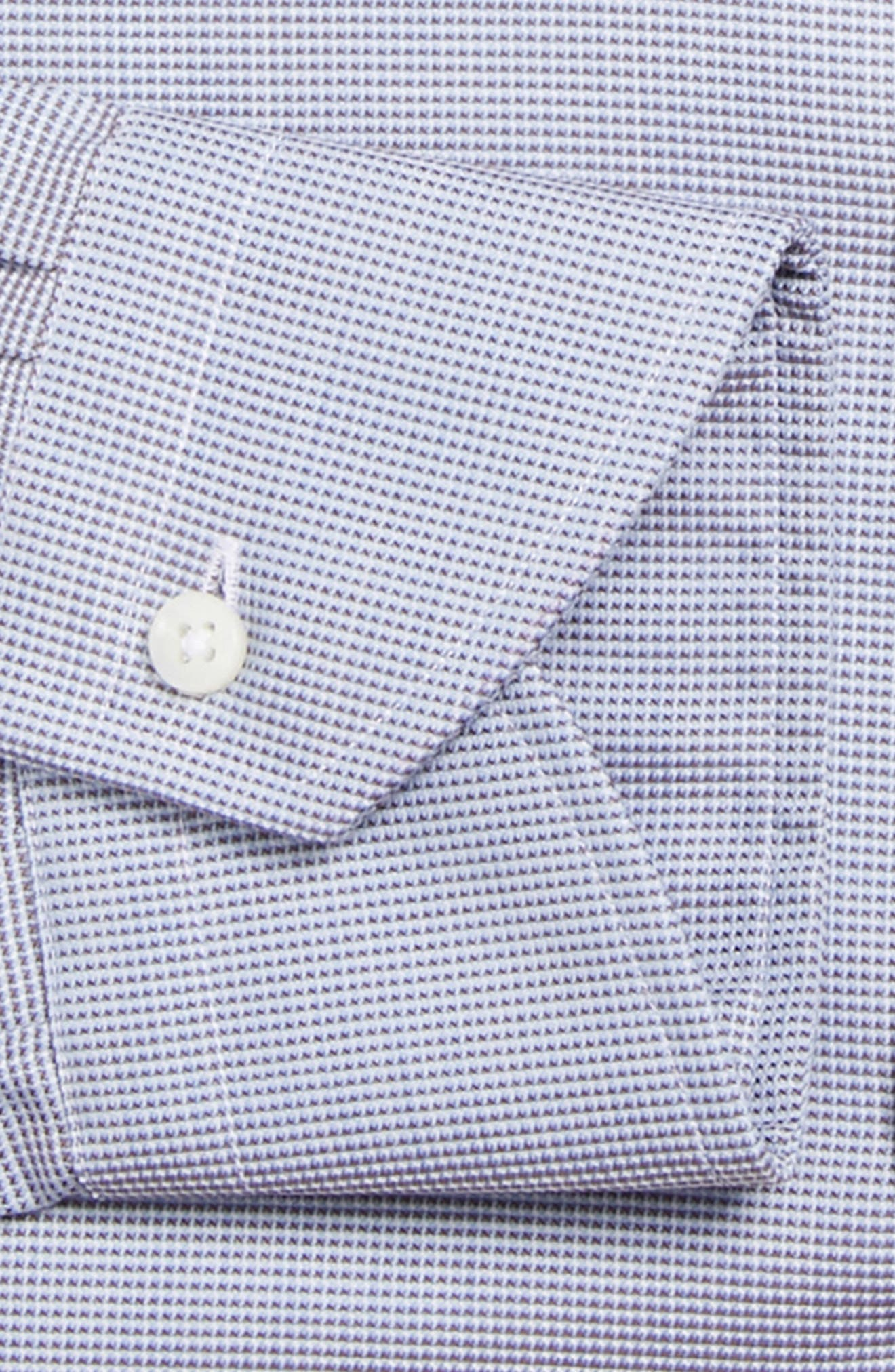 Regular Fit Solid Dress Shirt,                             Alternate thumbnail 6, color,                             200