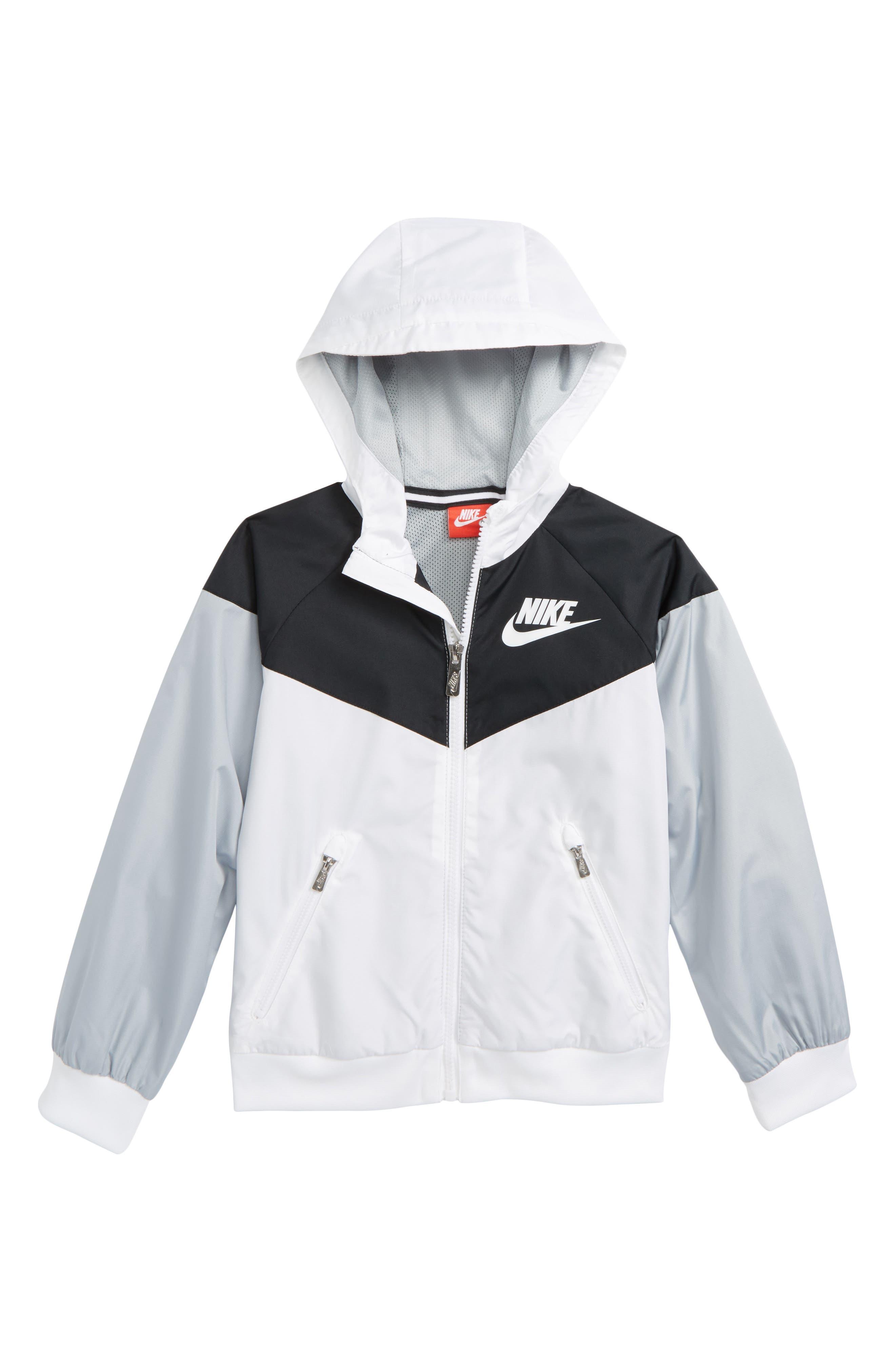 Windrunner Water Resistant Hooded Jacket,                         Main,                         color, 100