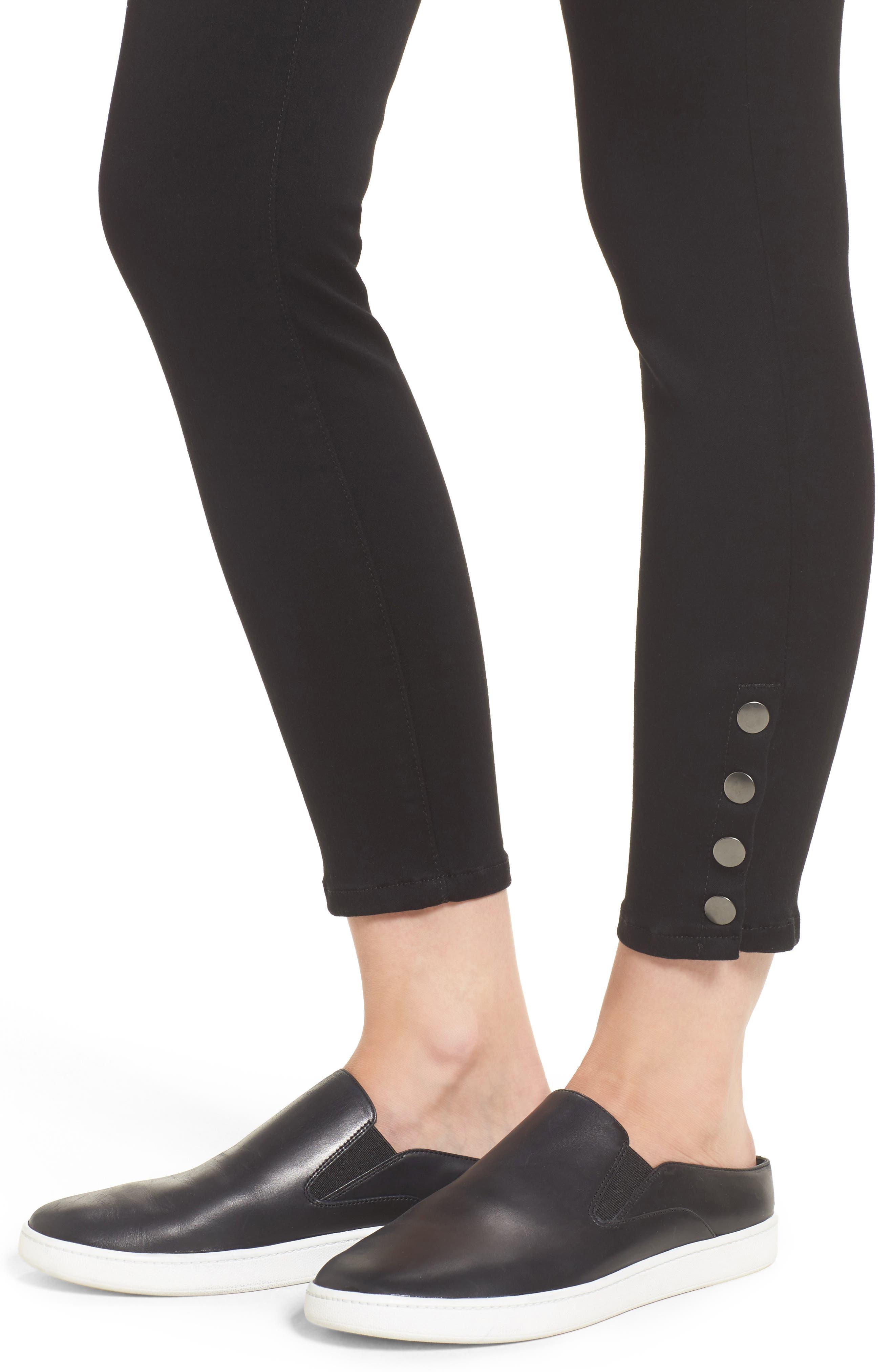 Snap Ankle Jeans,                             Alternate thumbnail 7, color,
