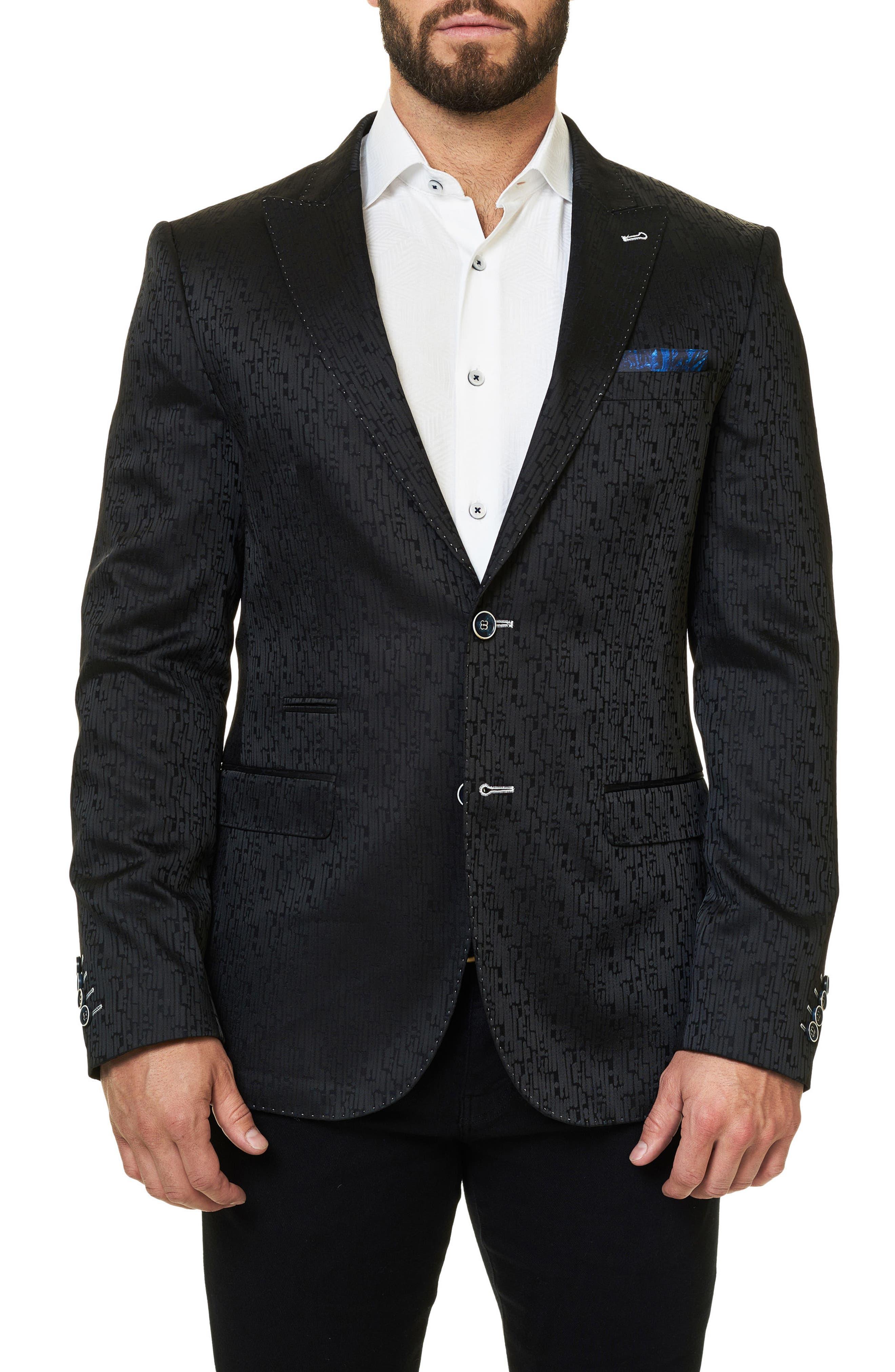 Elegance Jacquard Sport Coat,                         Main,                         color, 002