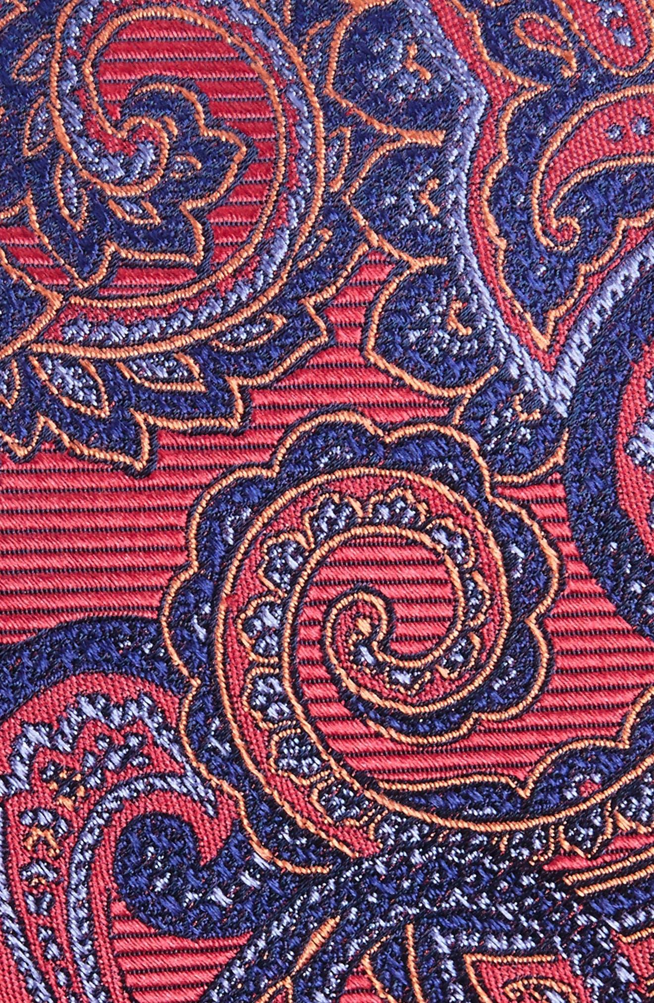Avalon Paisley Silk Tie,                             Alternate thumbnail 12, color,